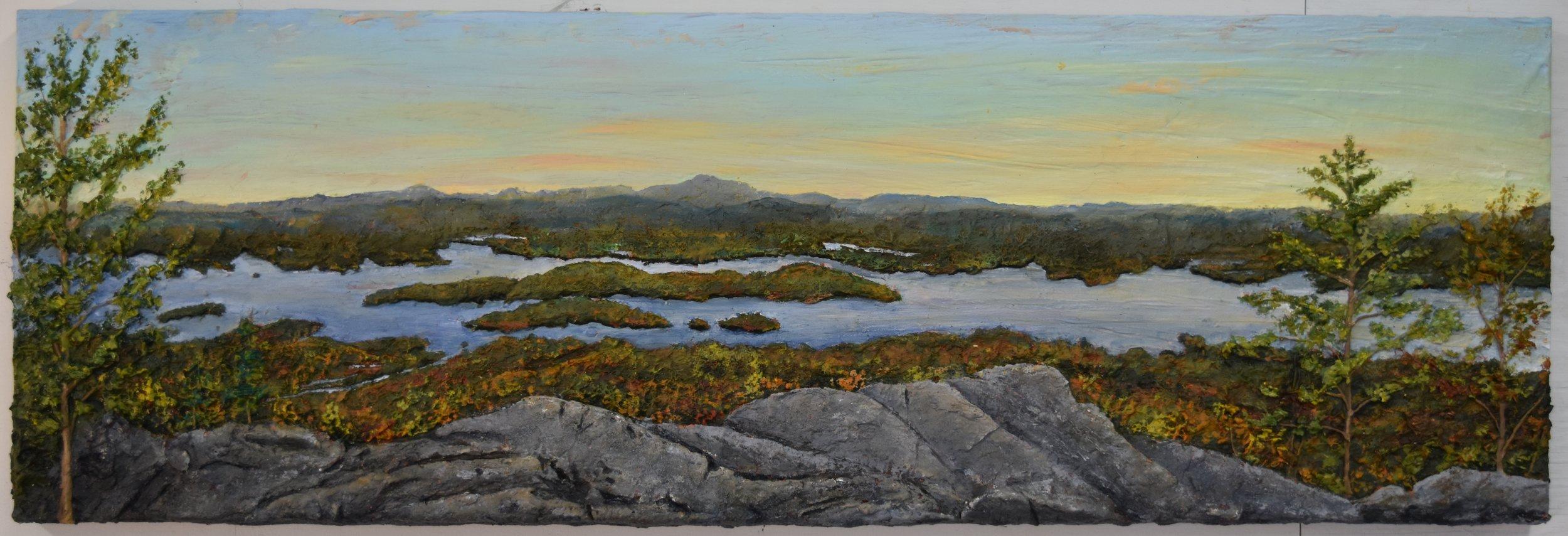 View of Lake Winnipesaukee from Mt. Major