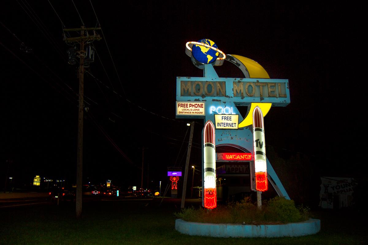 Moon Motel - Howell, New Jersey - 2011 (Since Demolished)