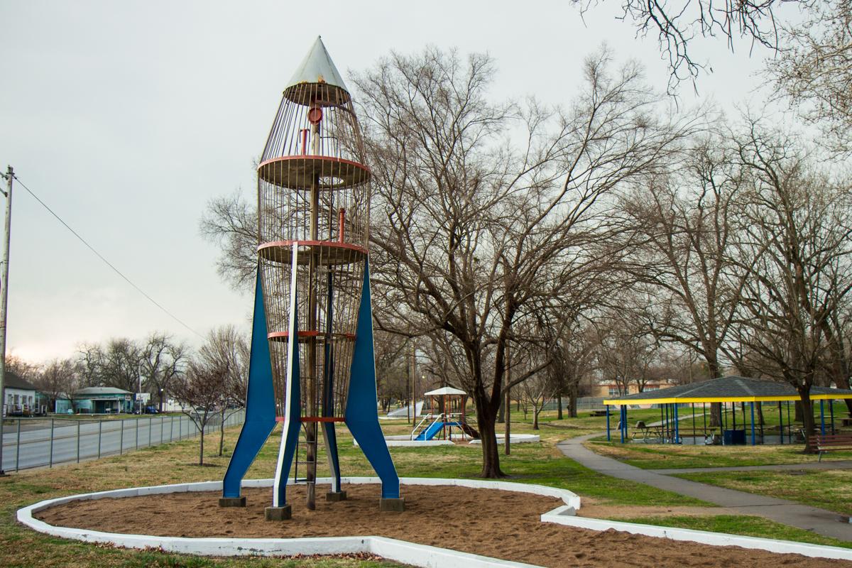 Rocketship Playground Climber - Ada, Oklahoma - 2012