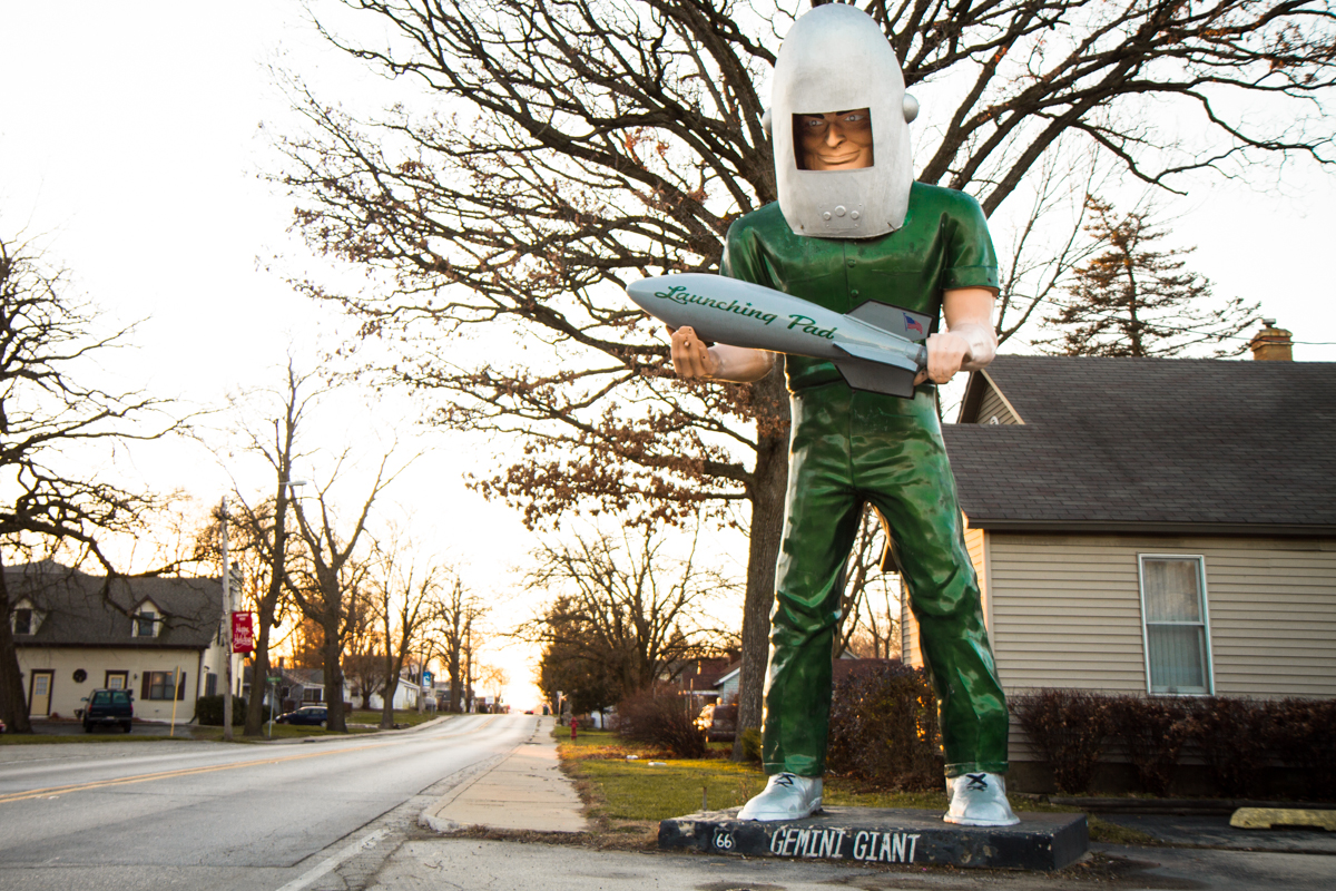 Gemini Giant at the Launching Pad Drive-In Restaurant - Wilmington, Illinois - 2011