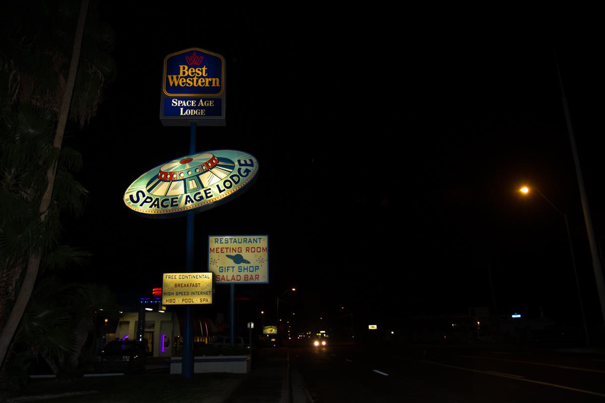 Space Age Lodge - Gila Bend, Arizona - 2012