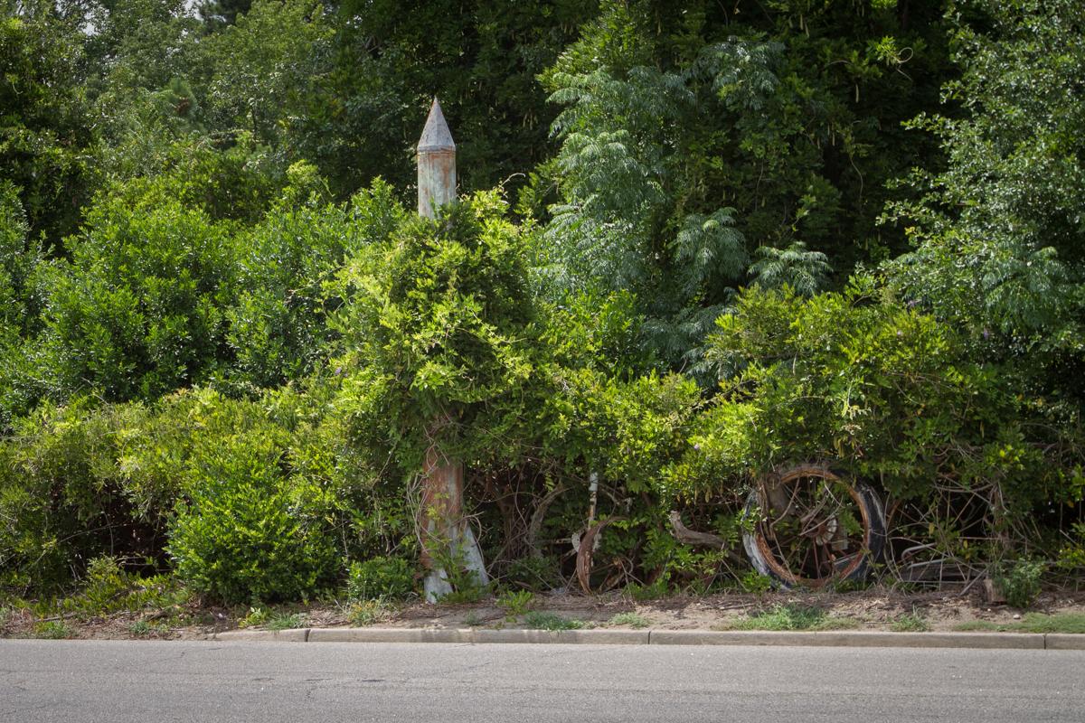 Folk Art Roadside Rocket Trade Stimulator - Rural South Carolina - 2012