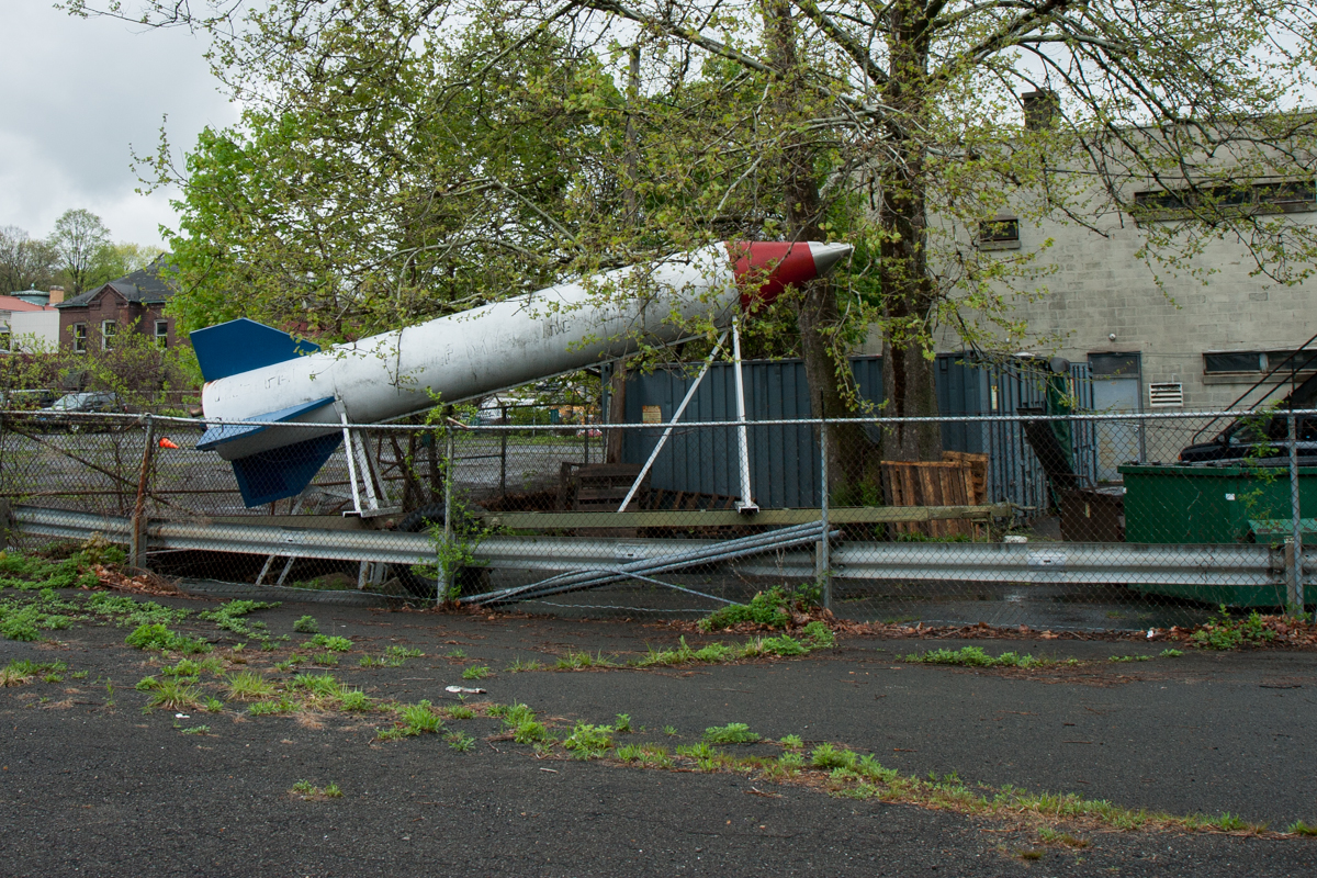Abandoned Parade Rocket - Naugatuck, Connecticut - 2010
