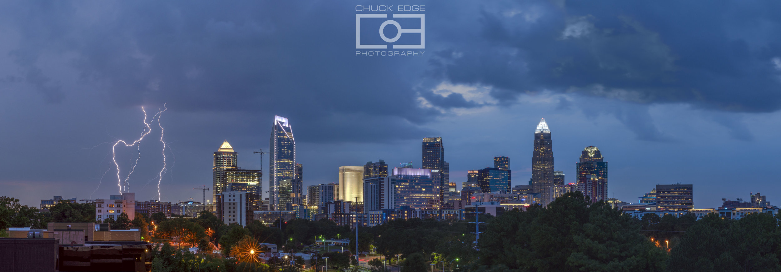 Charlotte sunset storm. June 29, 2019