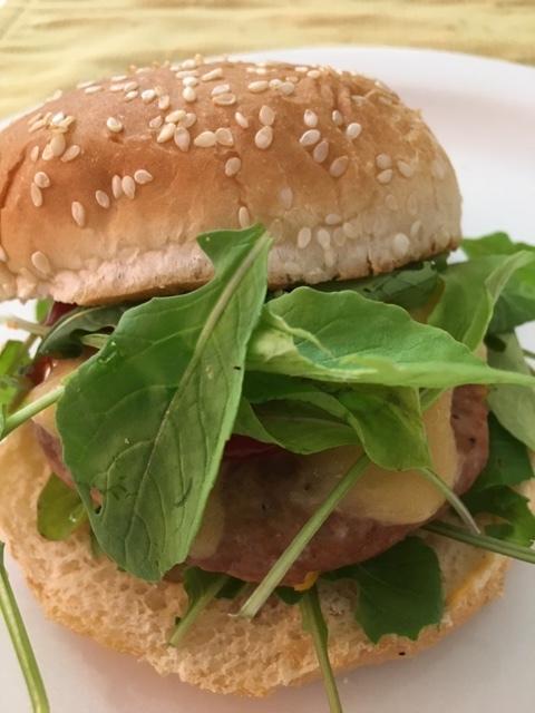 FOOD - Ultimate Turkey Burger