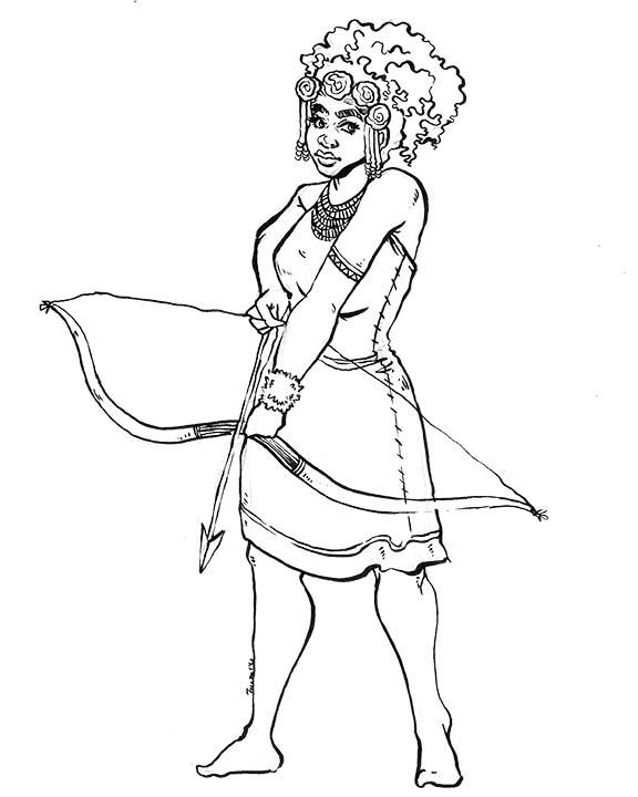 Atalanta Goddess
