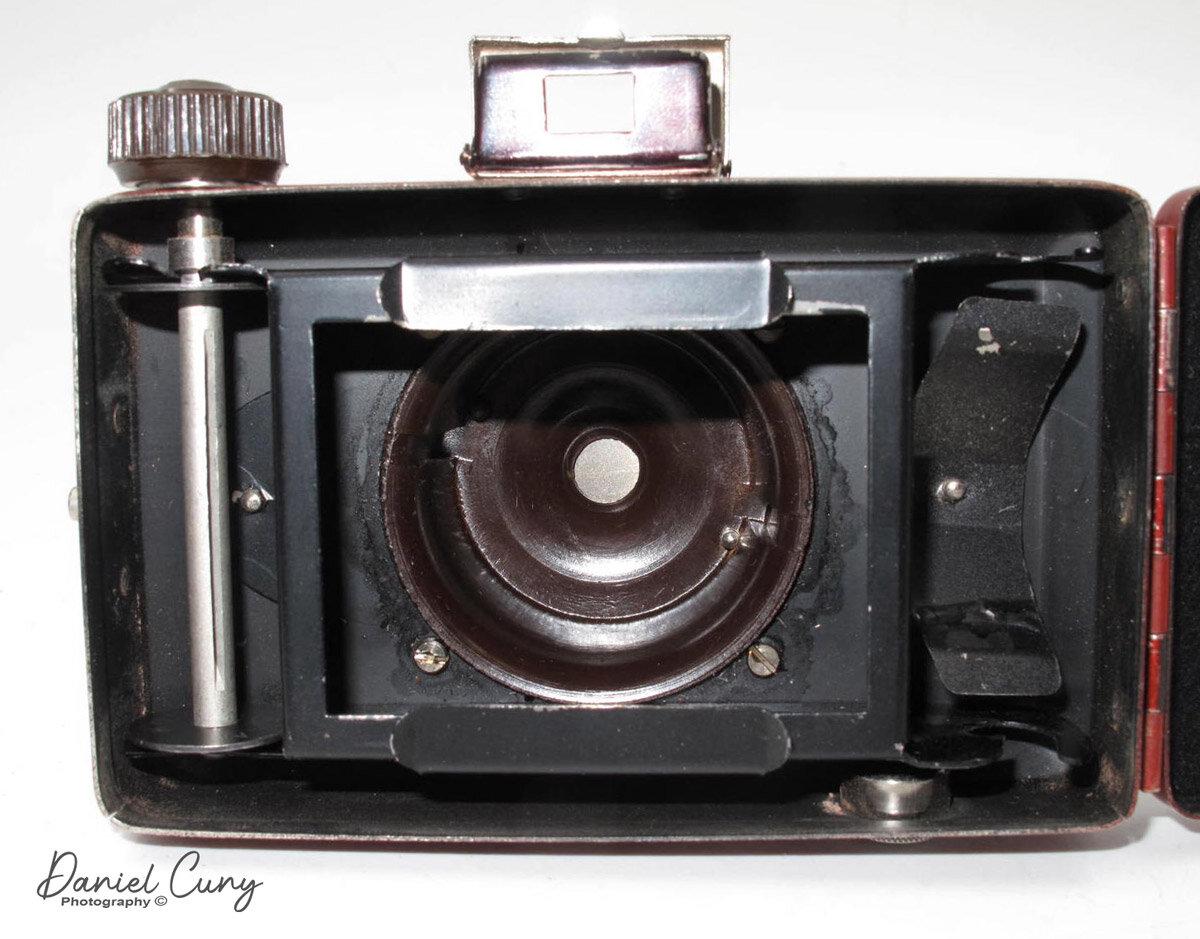 Optik 28 mm Vintage German Light Filter for Photo Camera from 1970s LIFA German Light Filter Panchrom 1