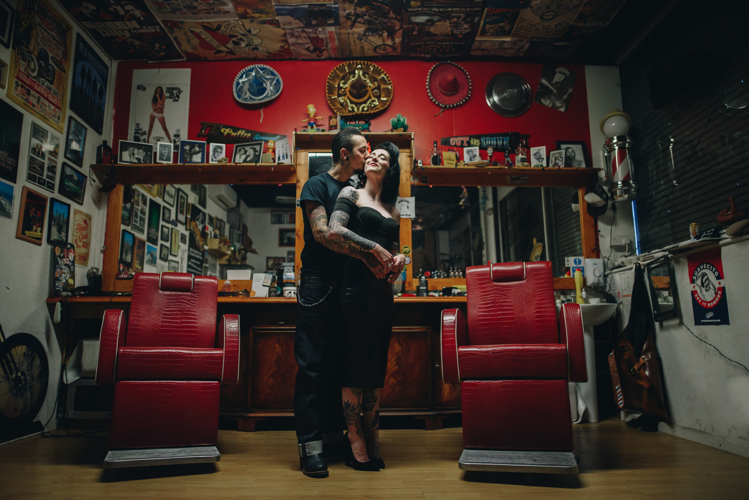 Alternative-Manchester-Wedding-Photography-rockabilly-barbershop-Engagement-2.jpg
