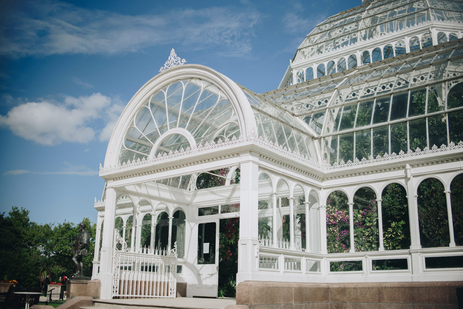 Twin Peaks Inspired Sefton Park Palm House Wedding