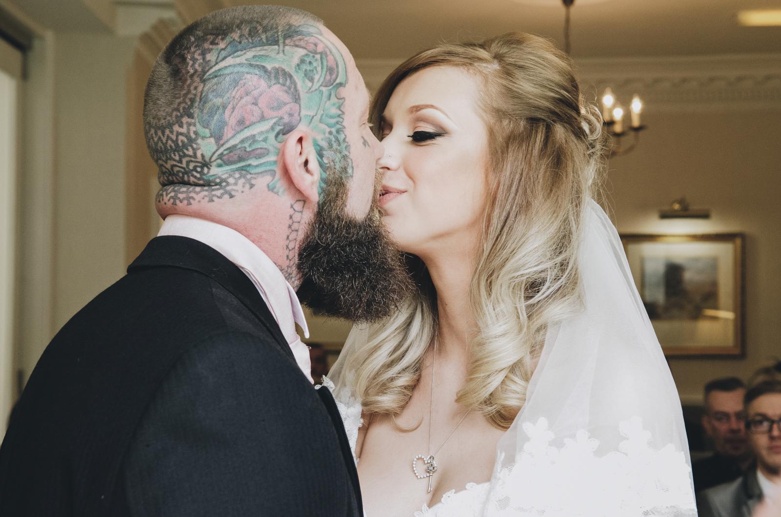 Alternative-North-West-Manchester-Wedding-Photography-Astley-bank-Wedding-skull-cake-tattooed-groom-8.jpg