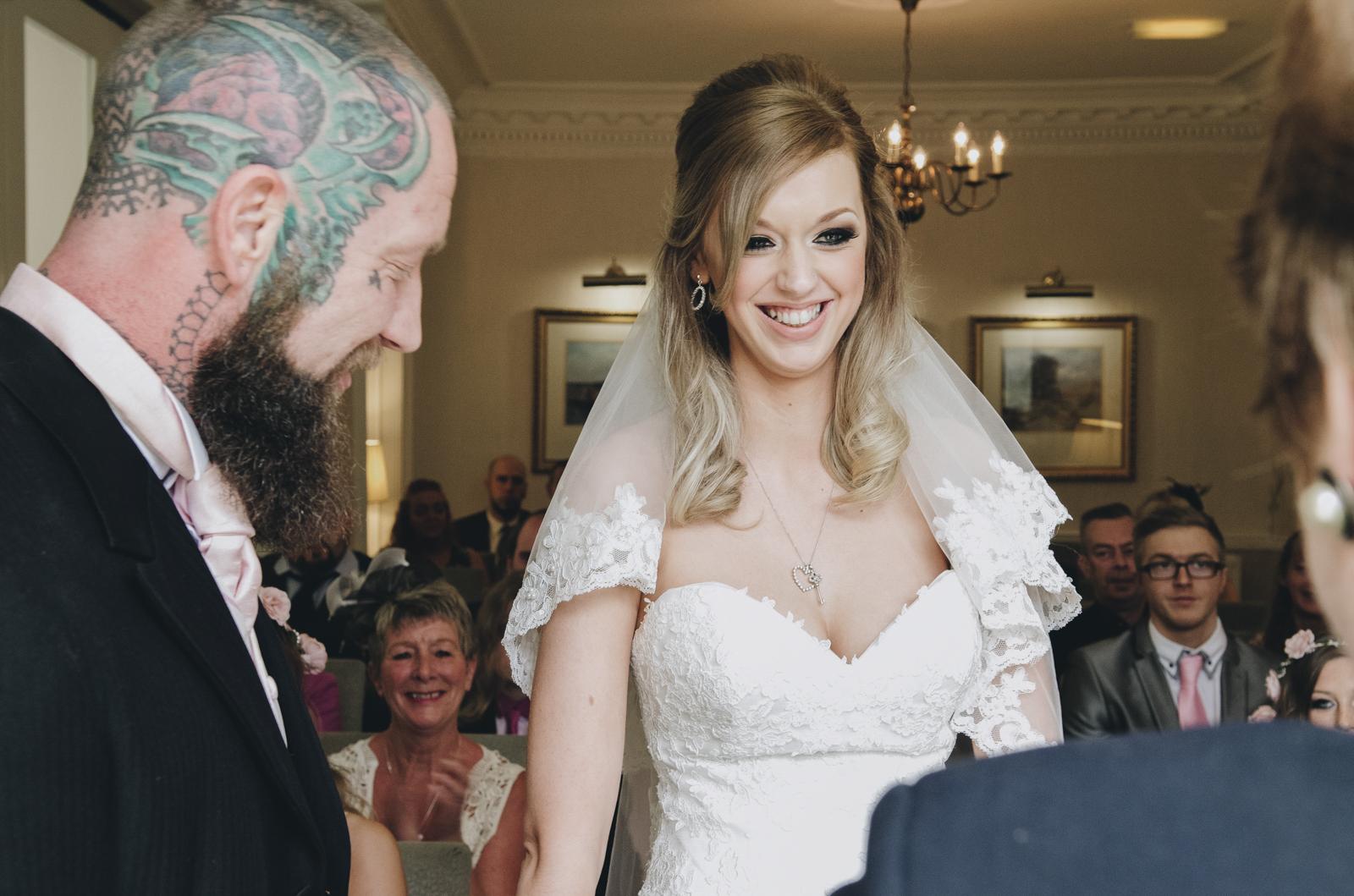 Alternative-North-West-Manchester-Wedding-Photography-Astley-bank-Wedding-skull-cake-tattooed-groom-9.jpg