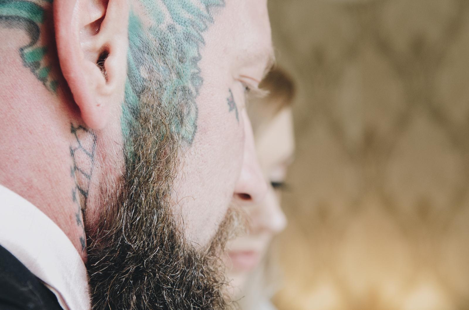 Alternative-North-West-Manchester-Wedding-Photography-Astley-bank-Wedding-skull-cake-tattooed-groom-10.jpg