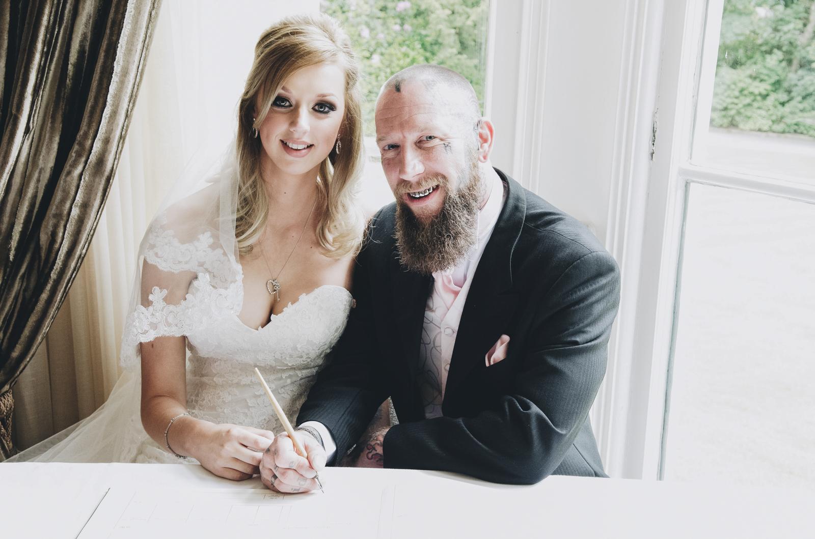 Alternative-North-West-Manchester-Wedding-Photography-Astley-bank-Wedding-skull-cake-tattooed-groom-15.jpg