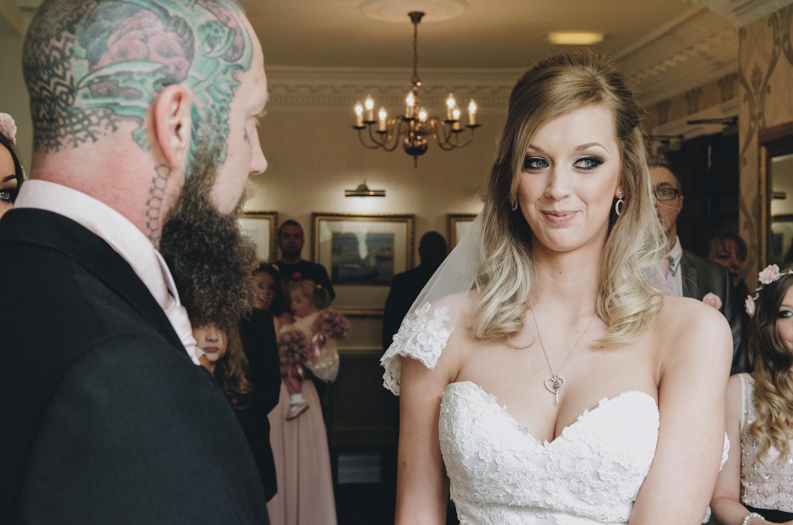 Alternative-North-West-Manchester-Wedding-Photography-Astley-bank-Wedding-skull-cake-tattooed-groom-17.jpg