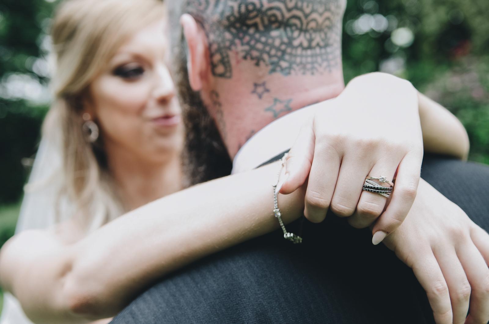 Alternative-North-West-Manchester-Wedding-Photography-Astley-bank-Wedding-skull-cake-tattooed-groom-23.jpg