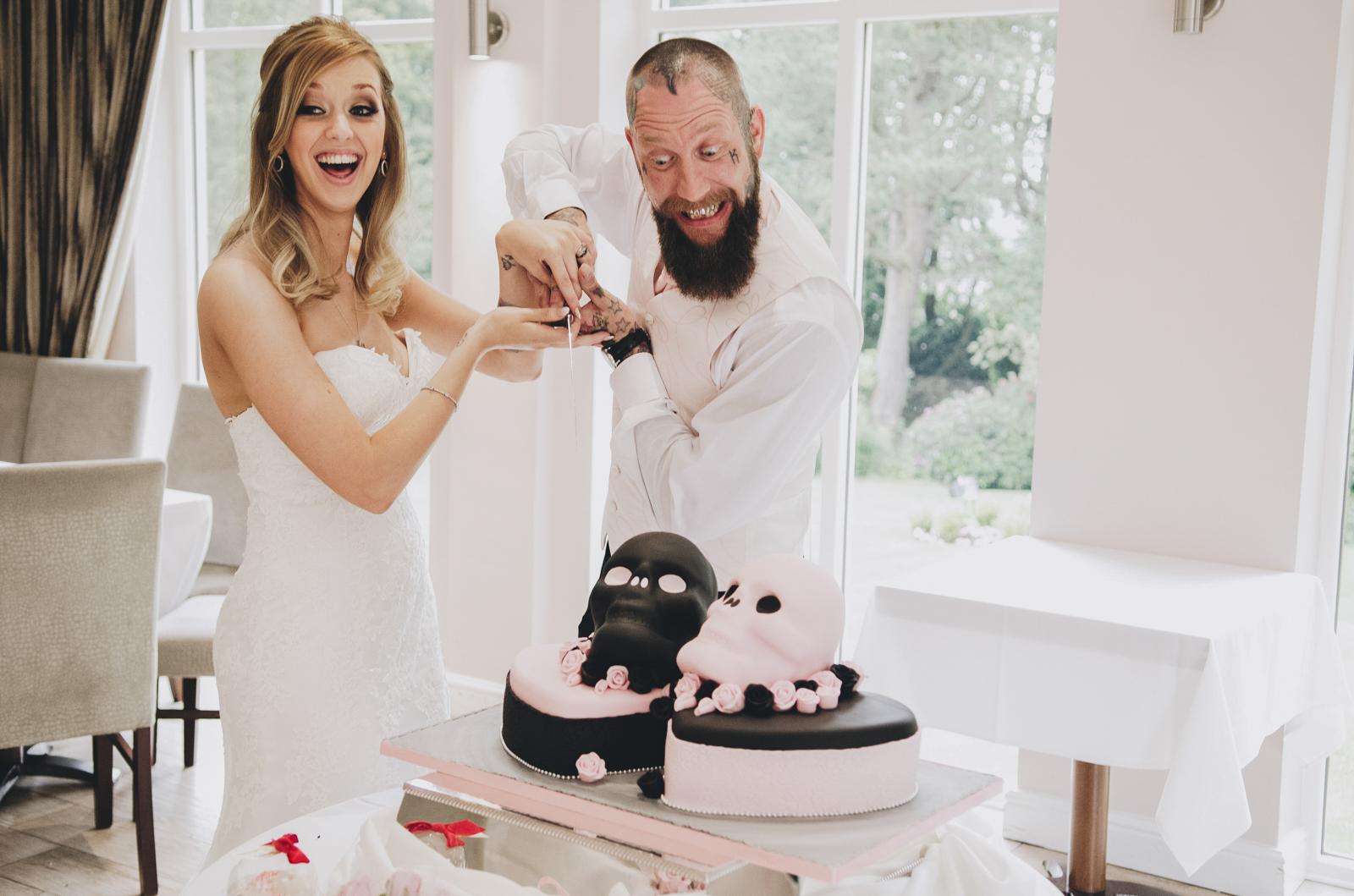 Alternative-North-West-Manchester-Wedding-Photography-Astley-bank-Wedding-skull-cake-tattooed-groom-37.jpg