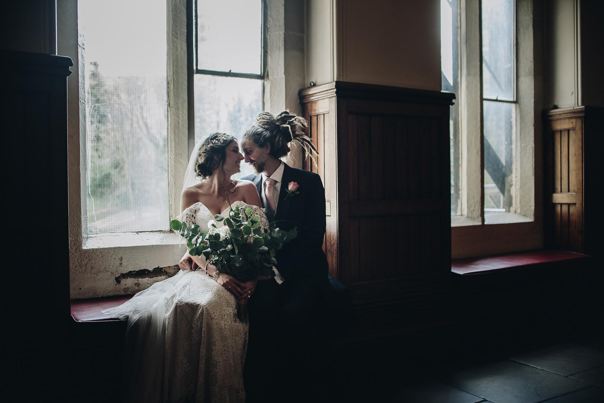 Vegan_Boho_Hogwarts_alternative_Wedding_photography_Rochdale_Town_Hall_3
