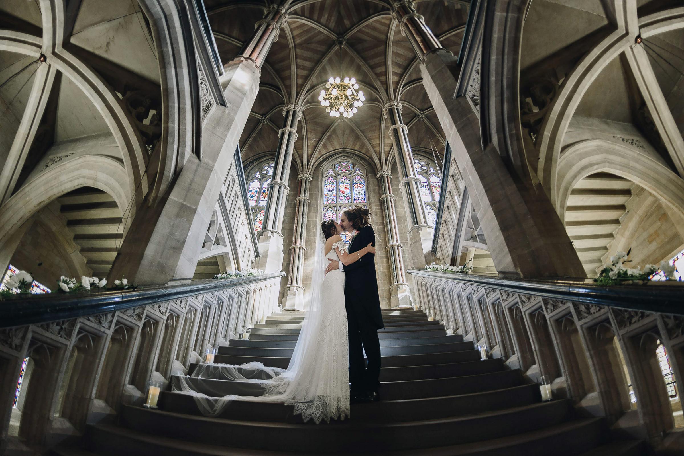 Vegan_Boho_Hogwarts_alternative_Wedding_photography_Rochdale_Town_Hall_2