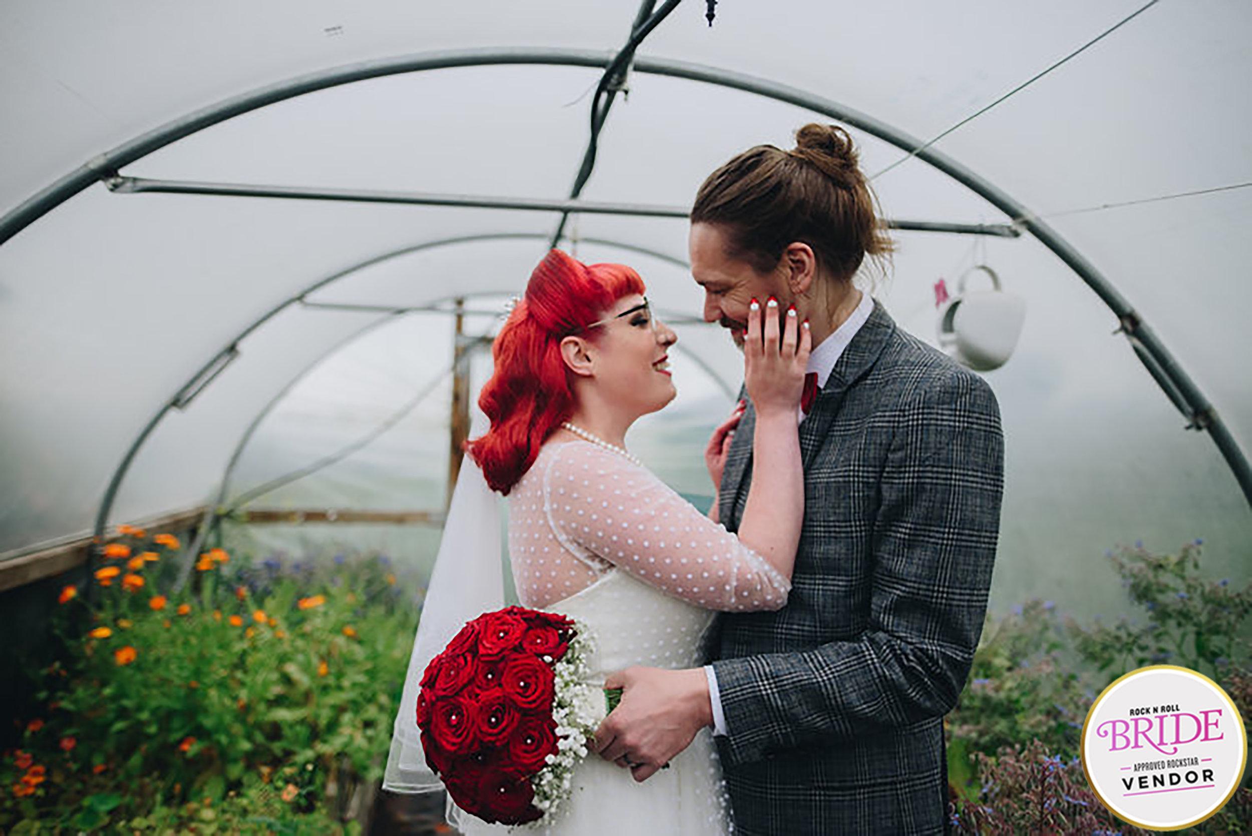 Rockabilly Wellbeing Farm Wedding