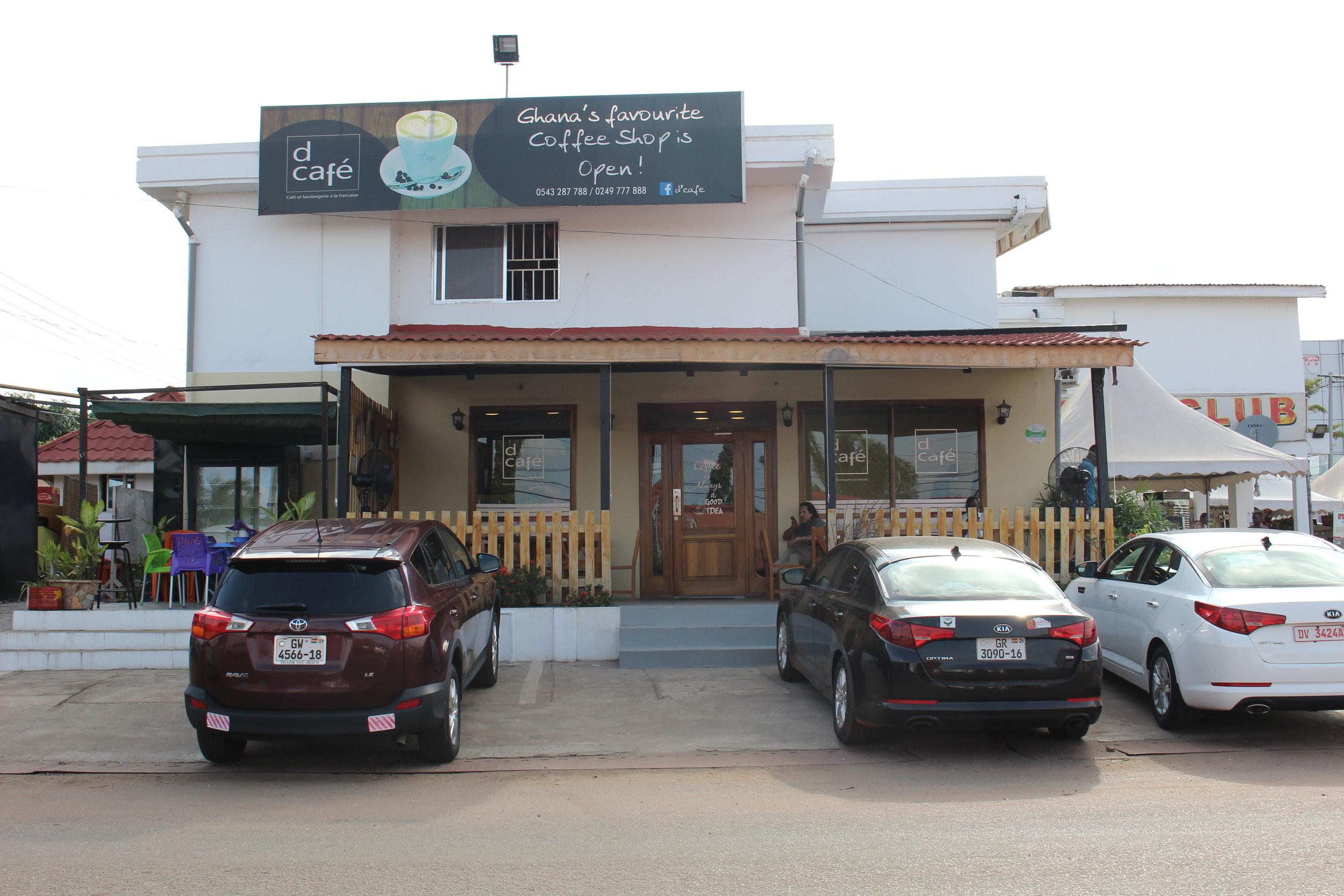 D Cafe  Jungle Avenue, East Legon  054 328 7788