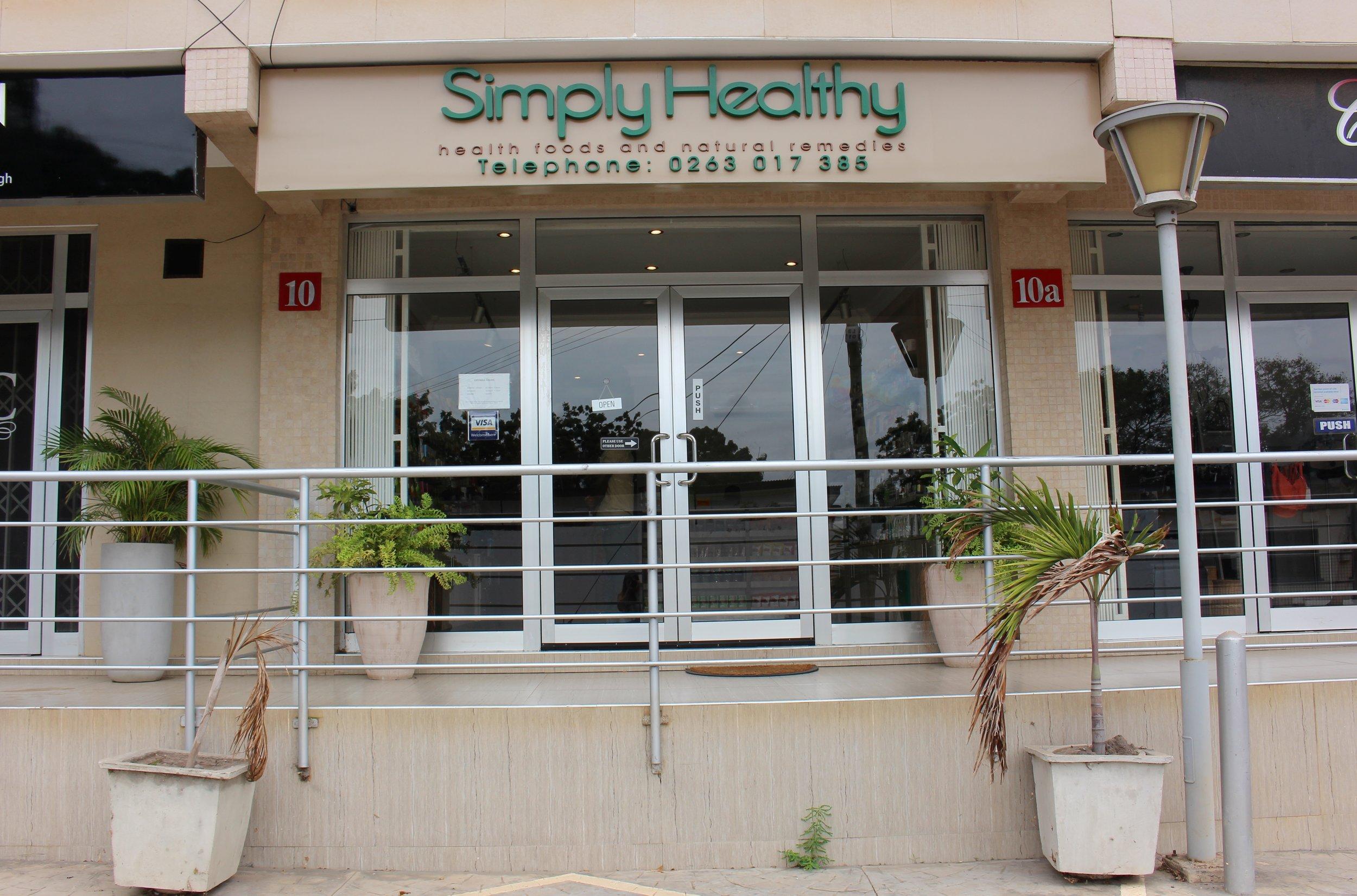 Simply Healthy  Labone Arcade, Orphan Crescent  026 301 7385