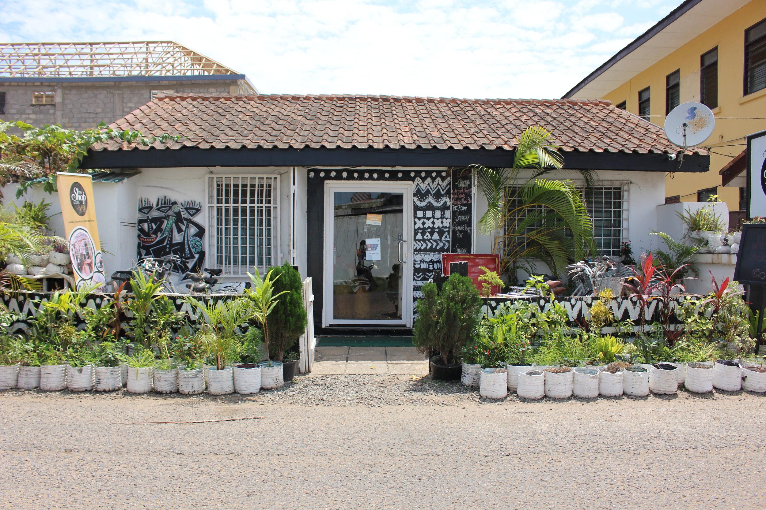 The Shop Accra  Omanye Street, Osu  050 332 8680