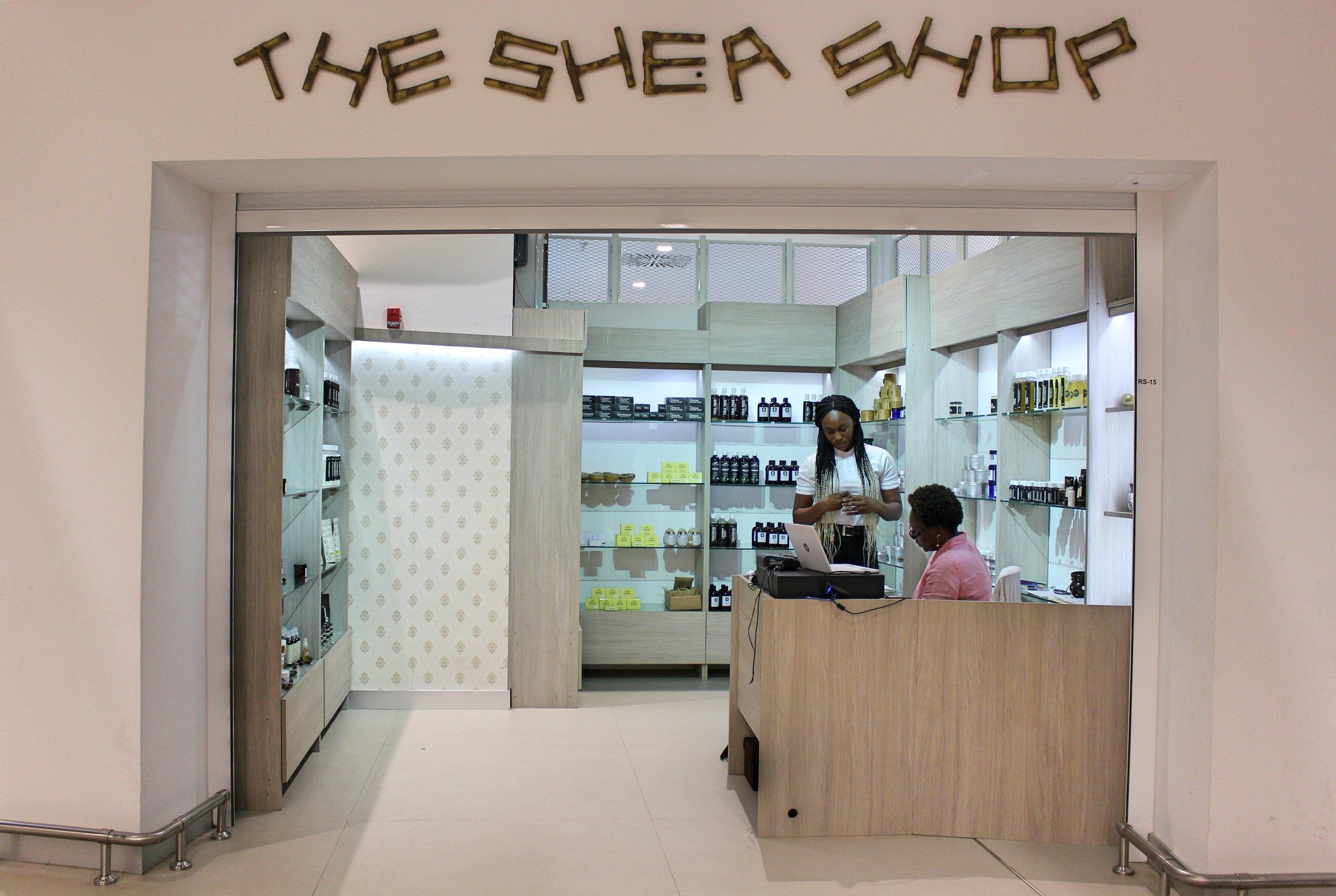 The Shea Shop  Terminal 3 Departures, Kotoka International Airport  020 811 1568