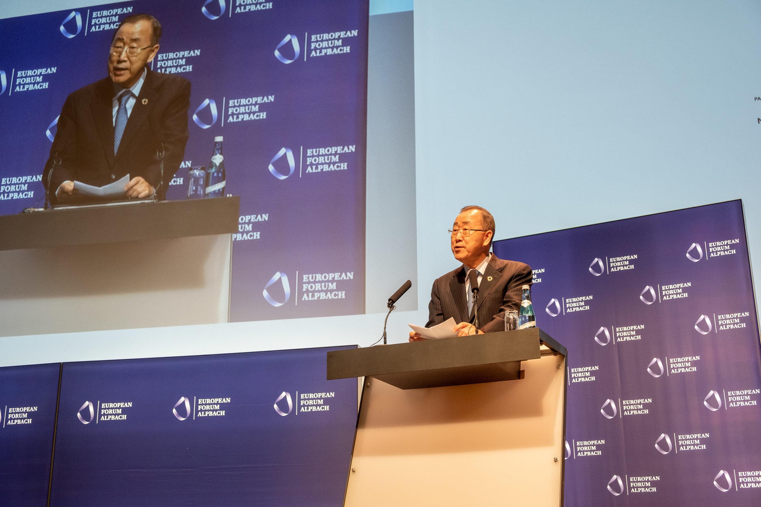 POL Opening, Ban Ki-moon, Credit: Bogdan Baraghin, from https://www.alpbach.org/en/media/pictures/