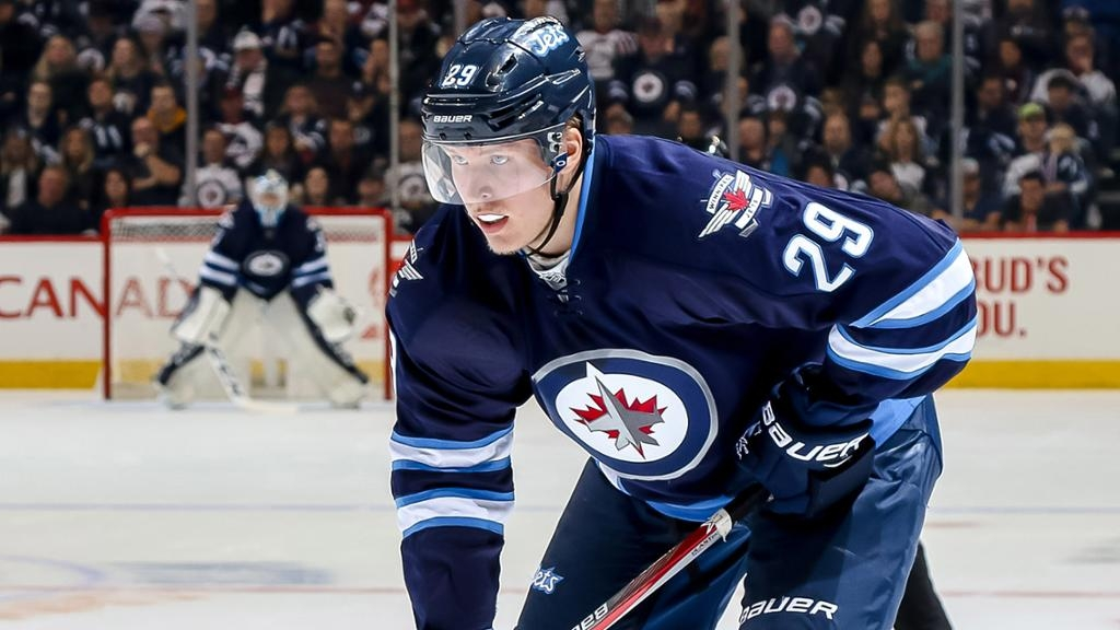 Winnipeg Jets and Finnish winger Patrik Laine. Photo courtesy of NHL.com