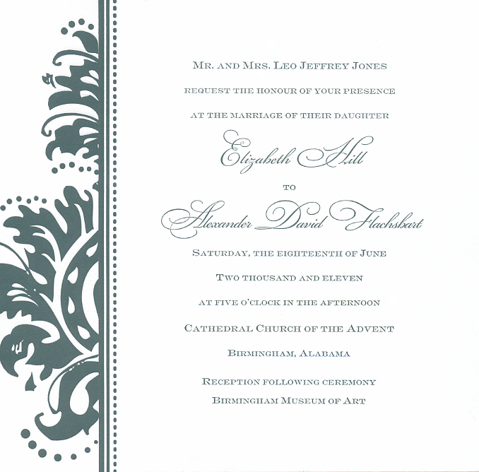 Customize! - The perfect invitation and stationary is at your fingertips!