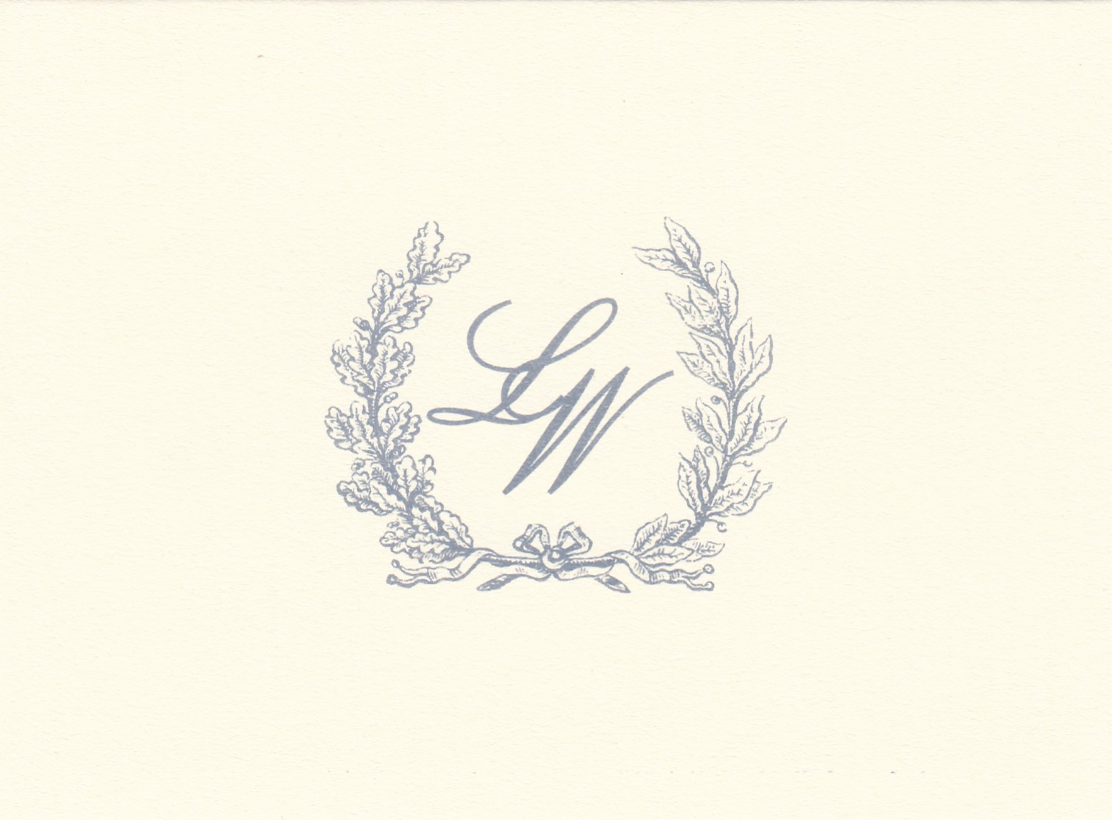50EL  Breeze Ink  Motif Q  Custom Monogram  Sample 1