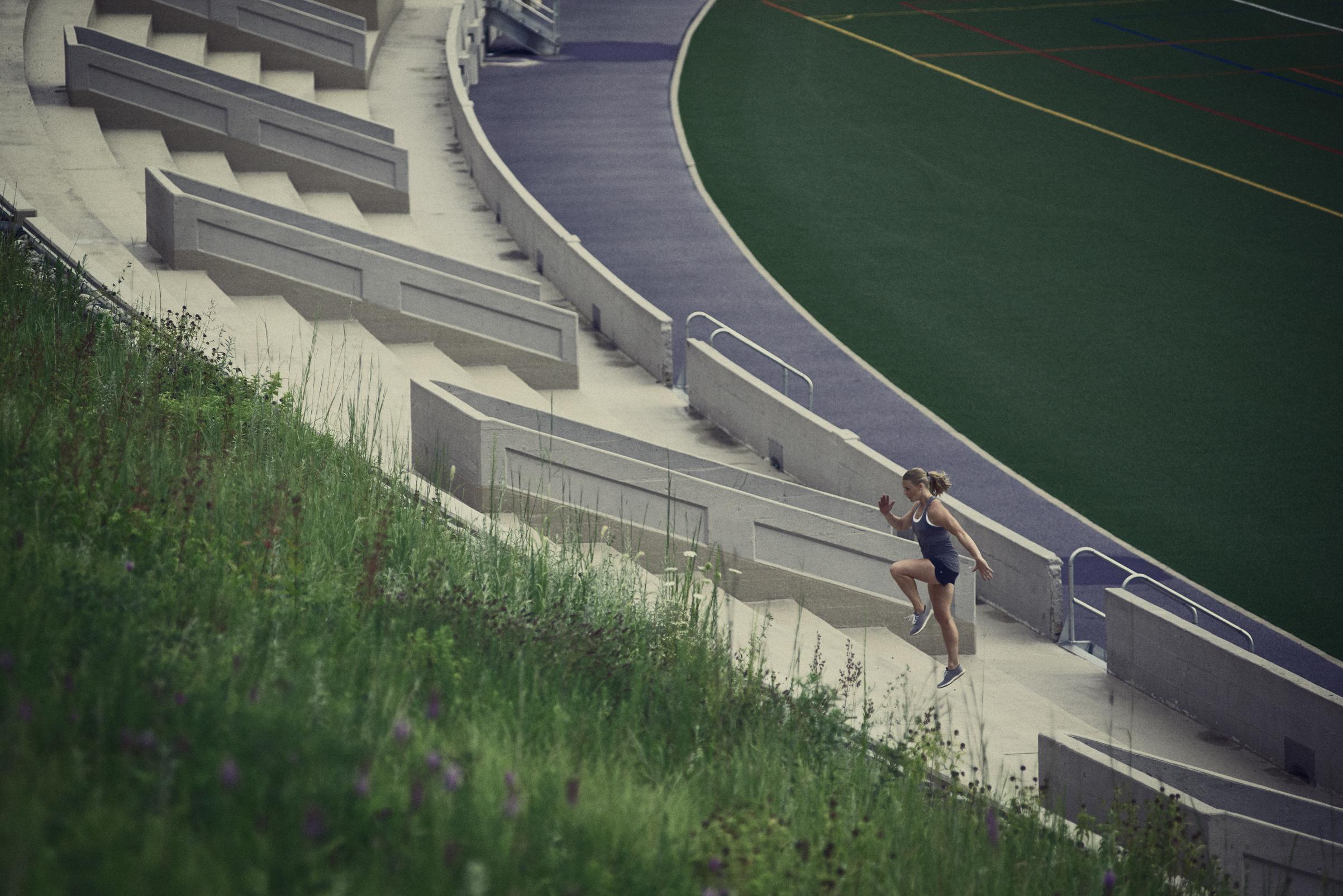 Ainslie Kehler, lululemon ambassador photographed by Craig Mulcahy for lululemon athletica in Kansas City, Missouri.