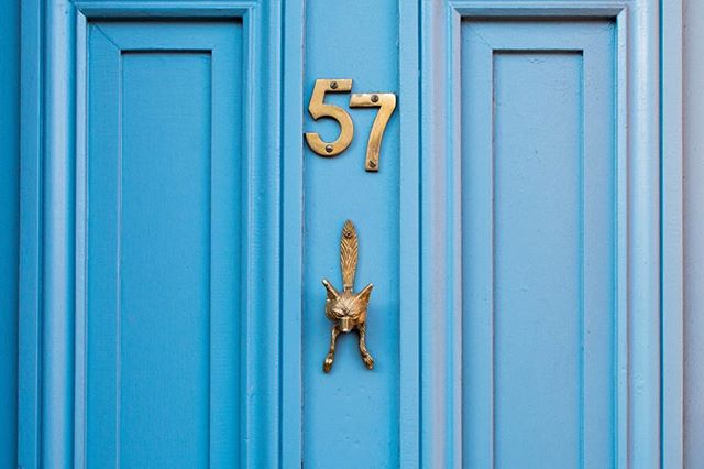 Fox door knockers seem to be a favourite among Bristol residents. 🦊 Taken by our photographer @seenbysuzie. #BristolDoors