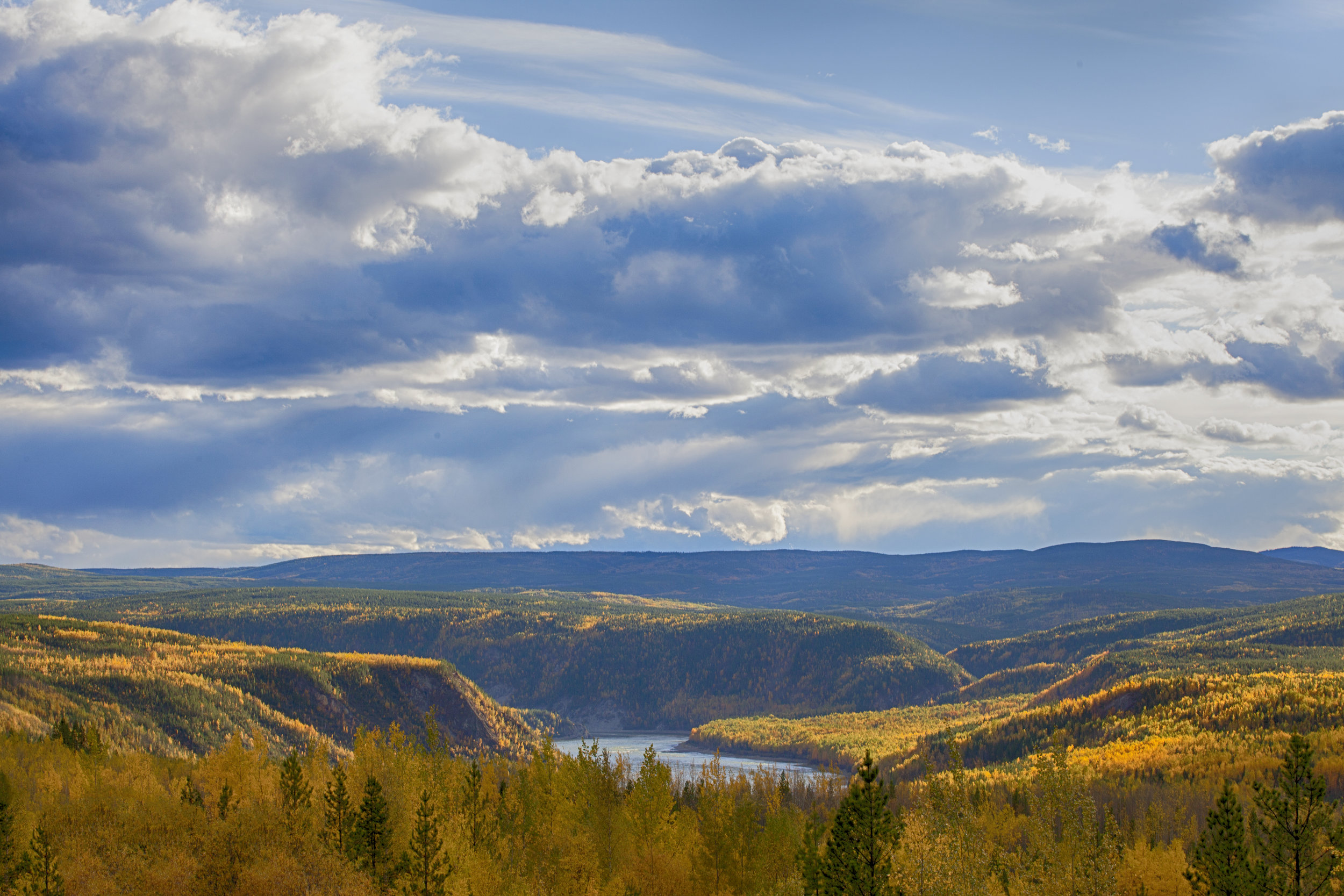Yukon Fall Colours - Across the Blue Planet