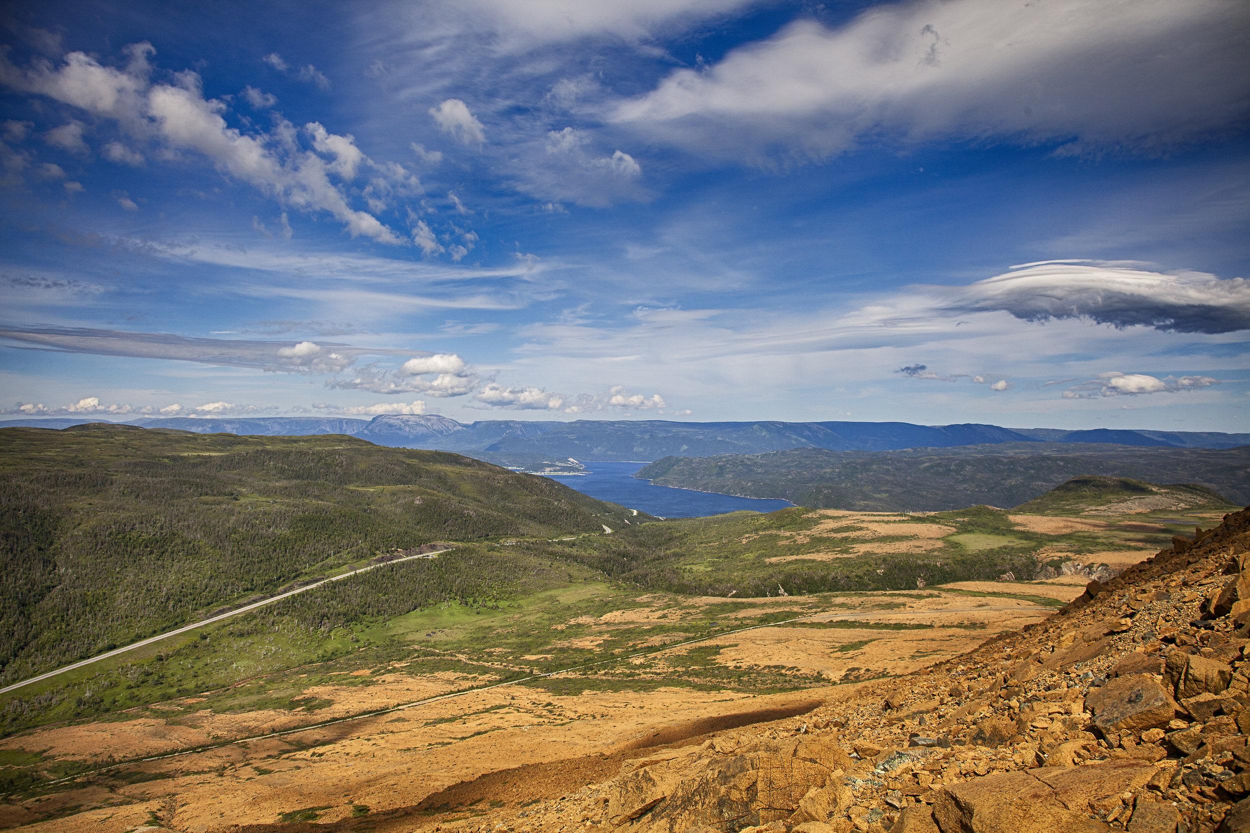 Gros Morne Views - Across the Blue Planet