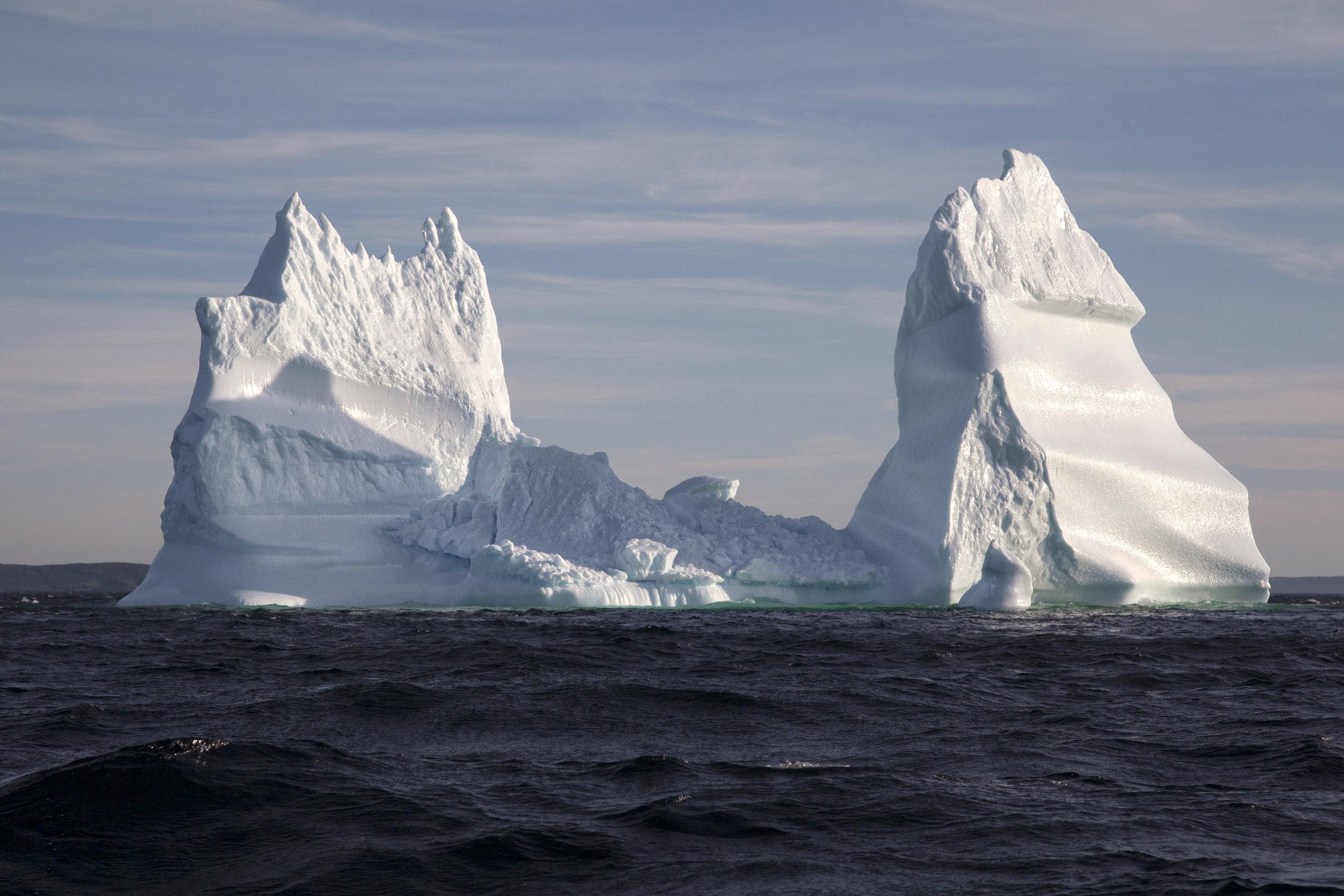 Iceberg in Bonavista - Across the Blue Planet