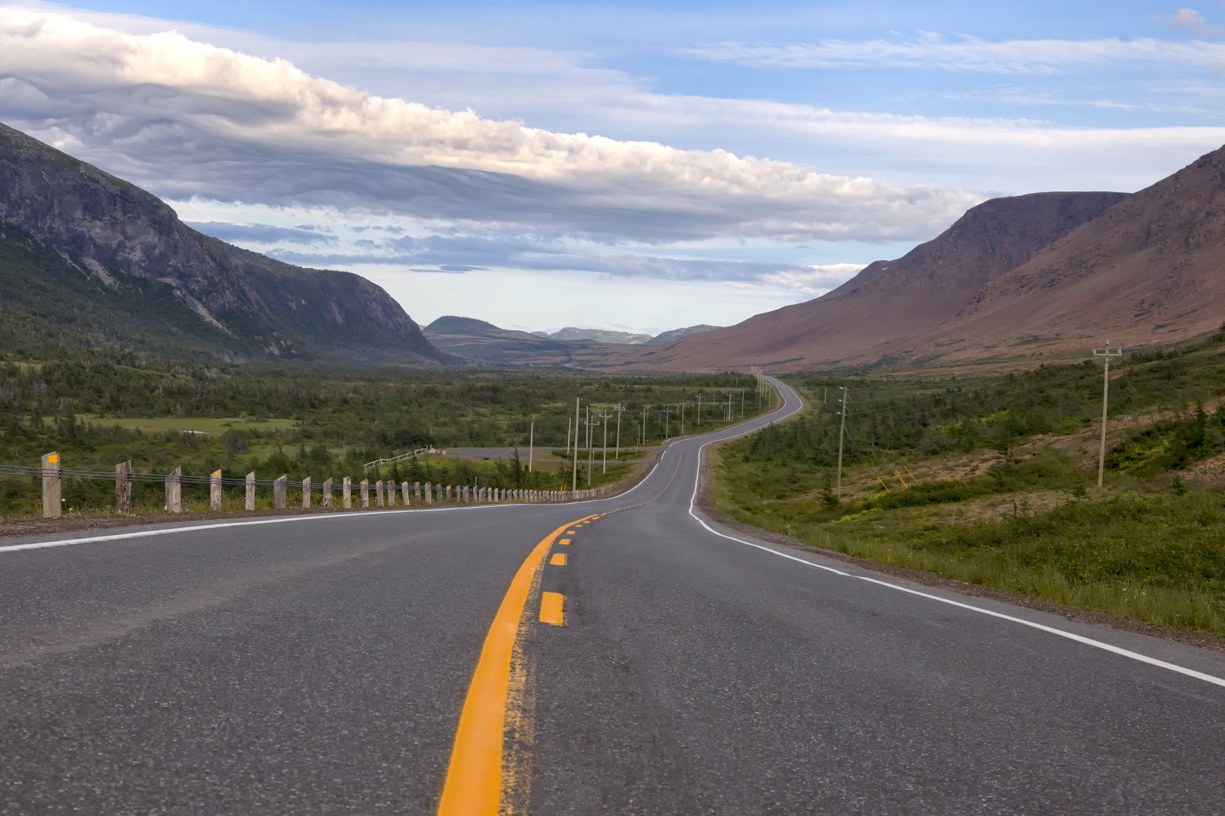 The road to the Tablelands - Across the Blue Planet
