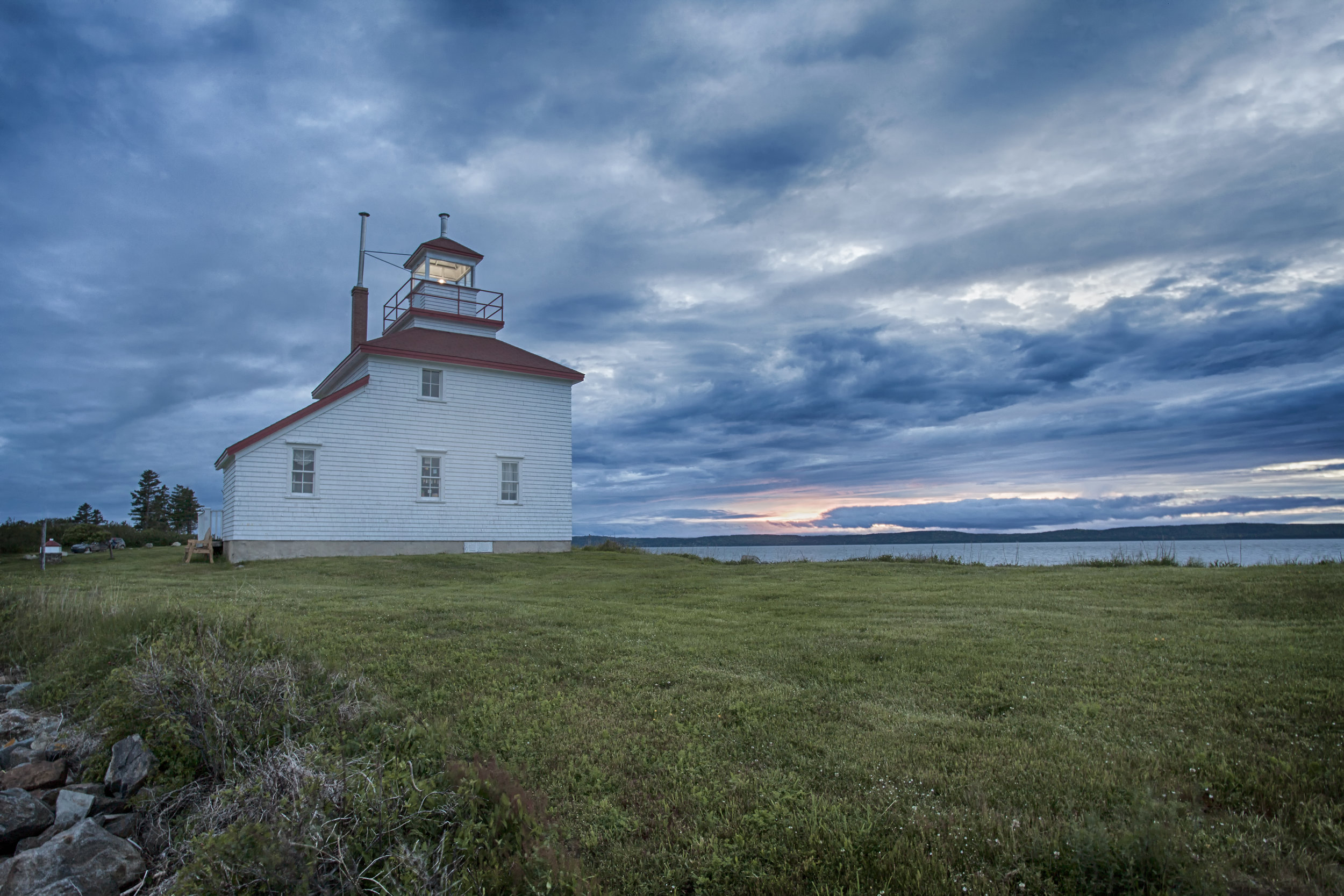Gilberts Cove Lighthouse - Across the Blue Planet