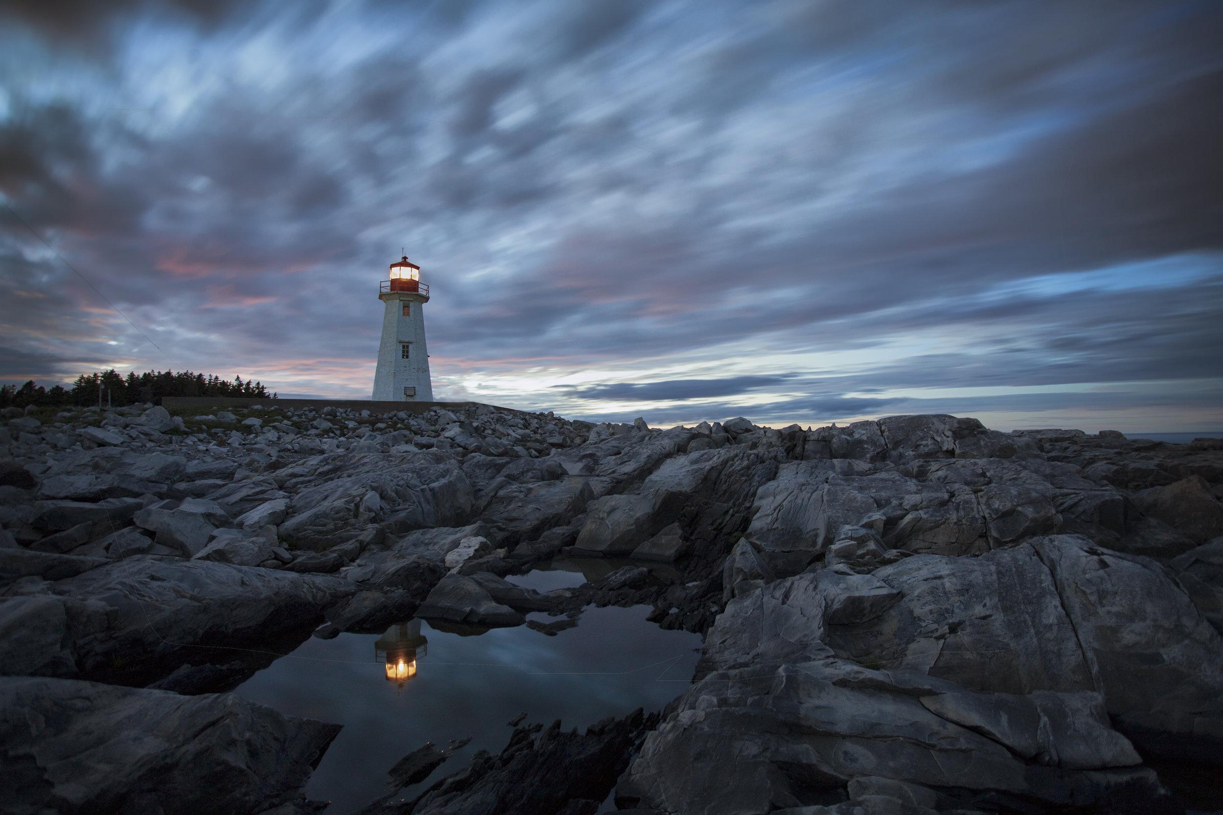 Western Head Lighthouse - Across the Blue Planet