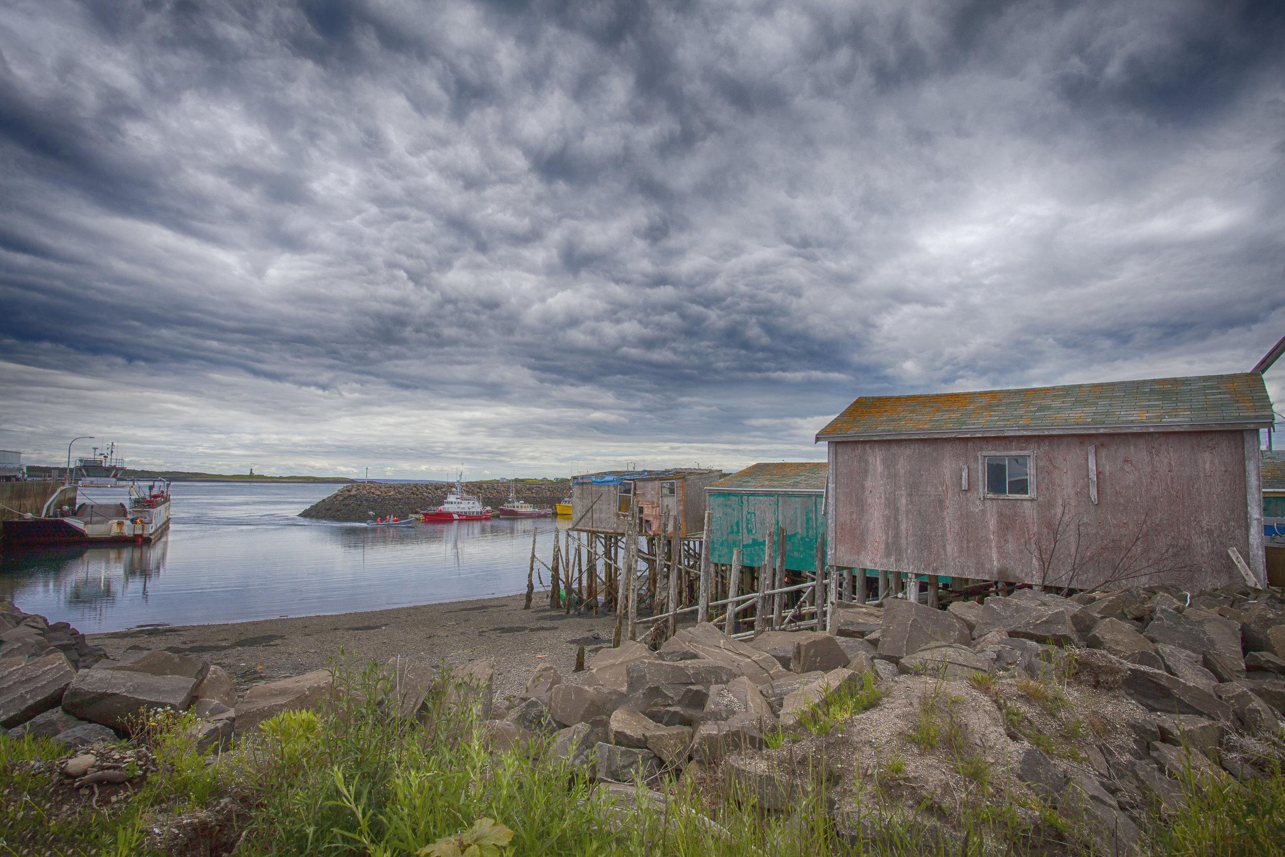 Fishing Village - Across the Blue Planet