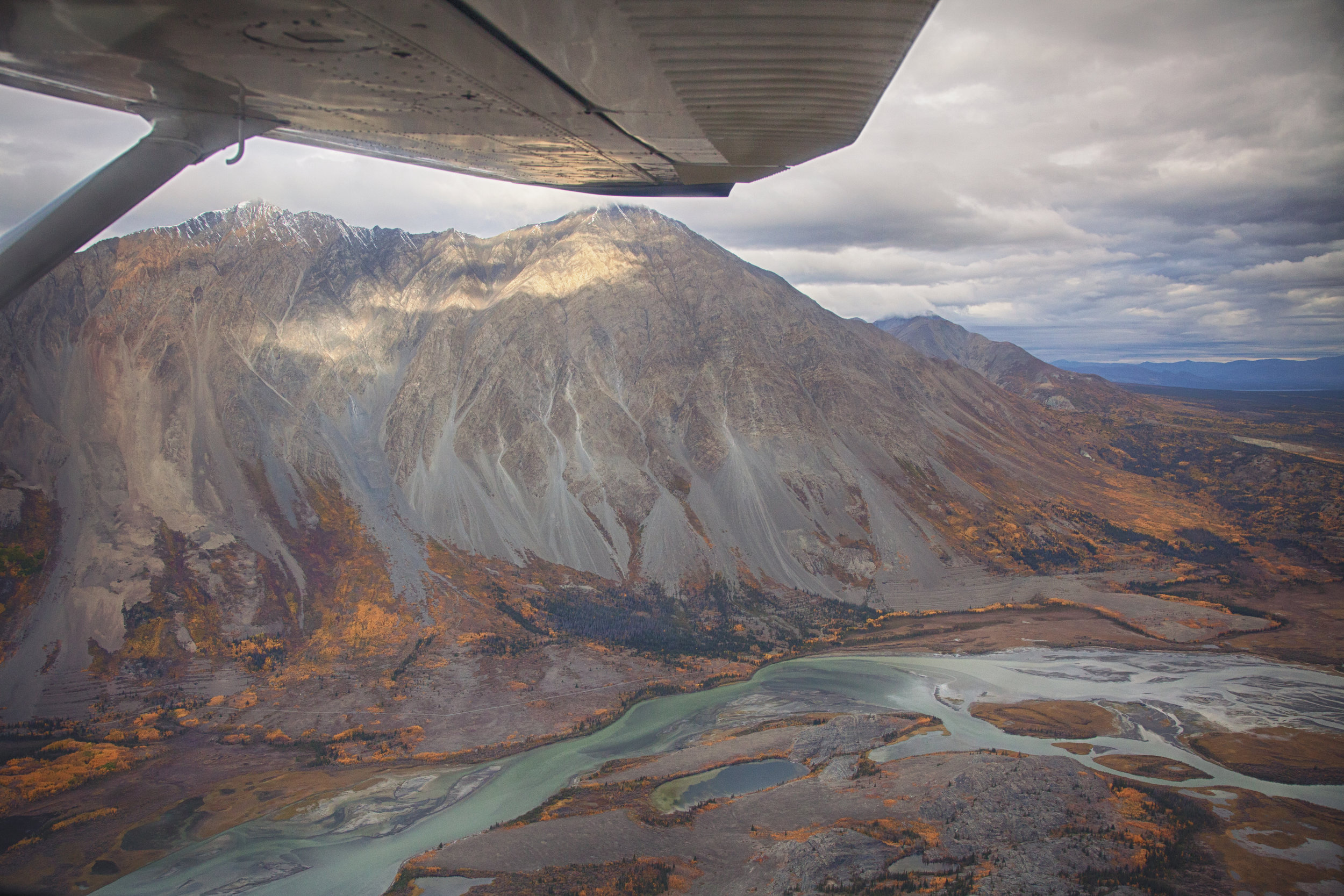 Flight over Kluane - Across the Blue Planet