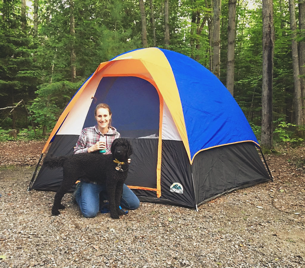 camping in Killarney - across the blue planet