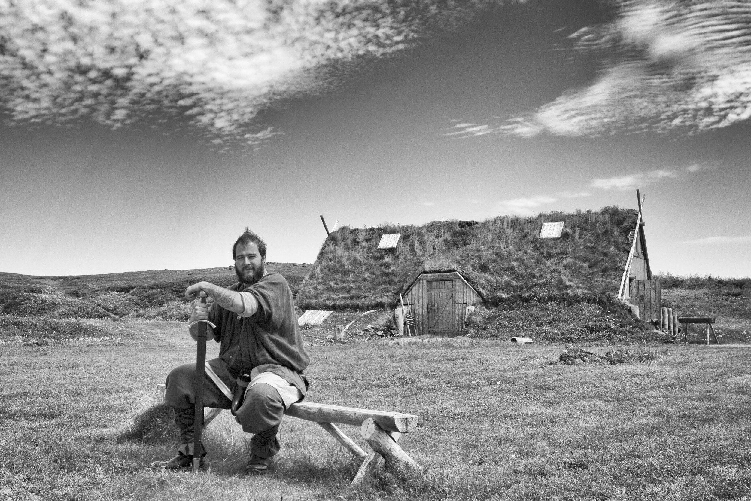 The Chieftain, at Norstead Viking Village - Newfoundland, Canada