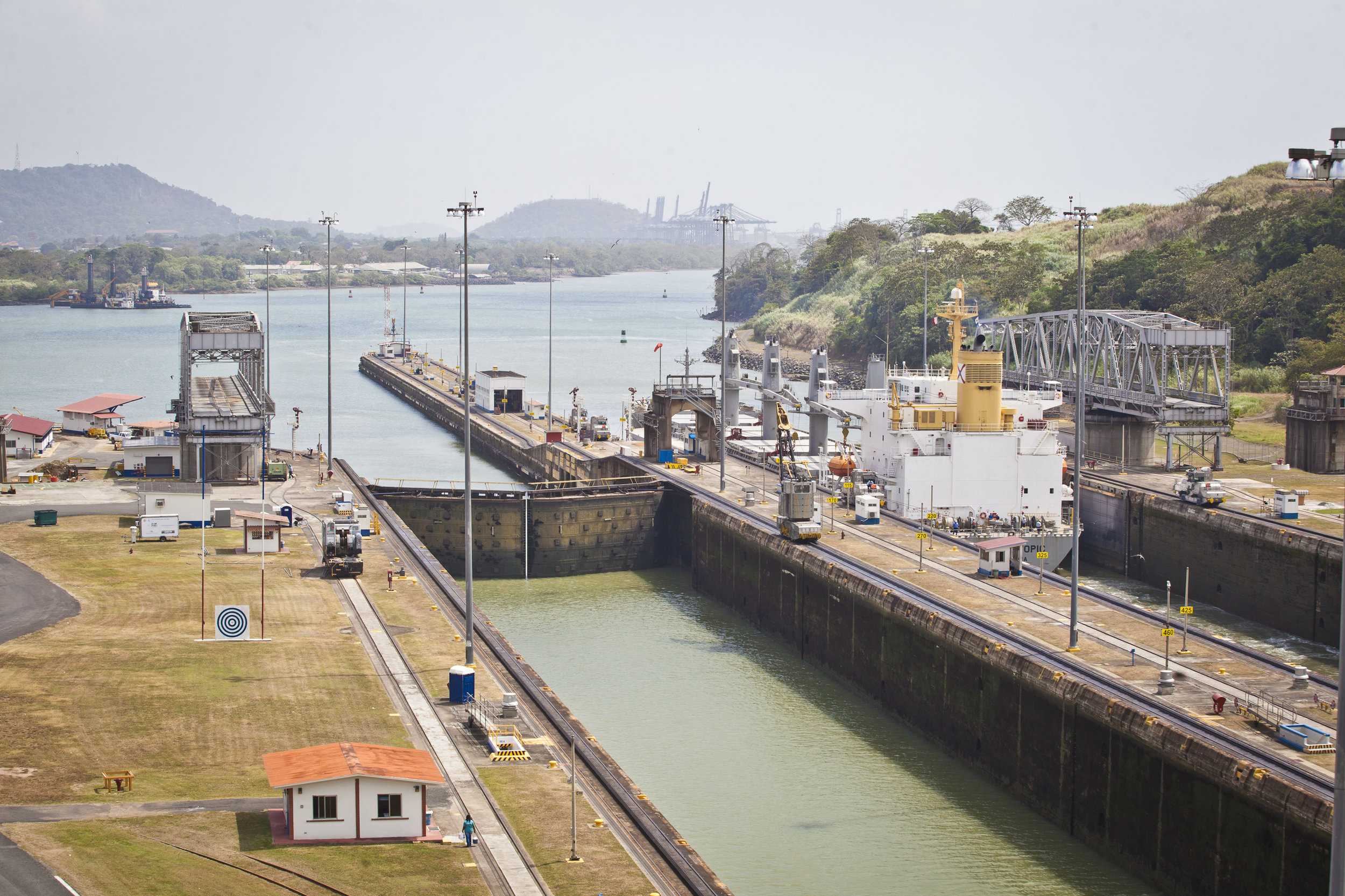 Panama Canal - Across the Blue Planet