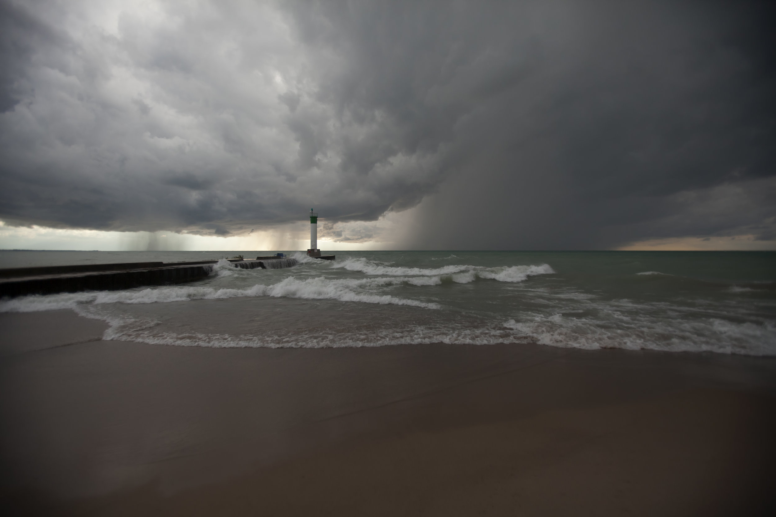 Grand Bend Storm - Across the Blue Planet