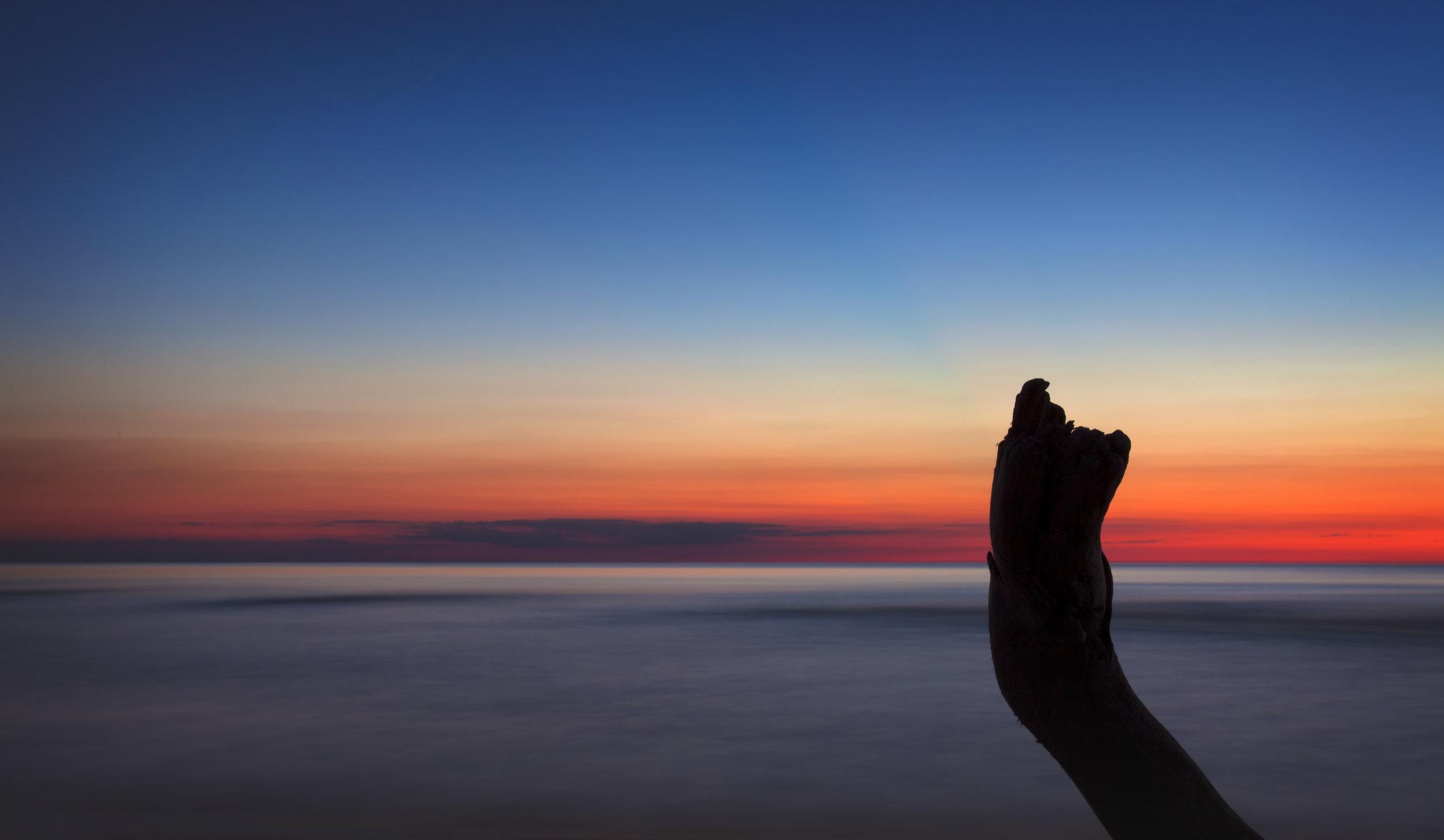 Sunset @ Port Franks - Across the Blue Planet