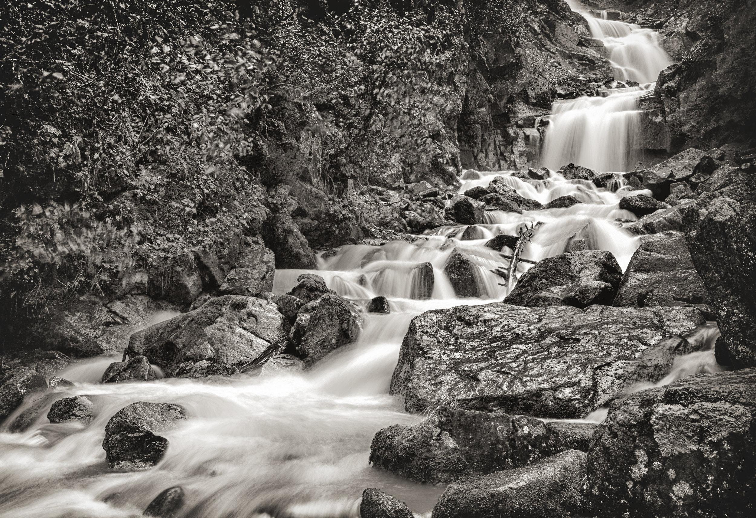Lower Reid Falls, Skagway - Across the Blue Planet