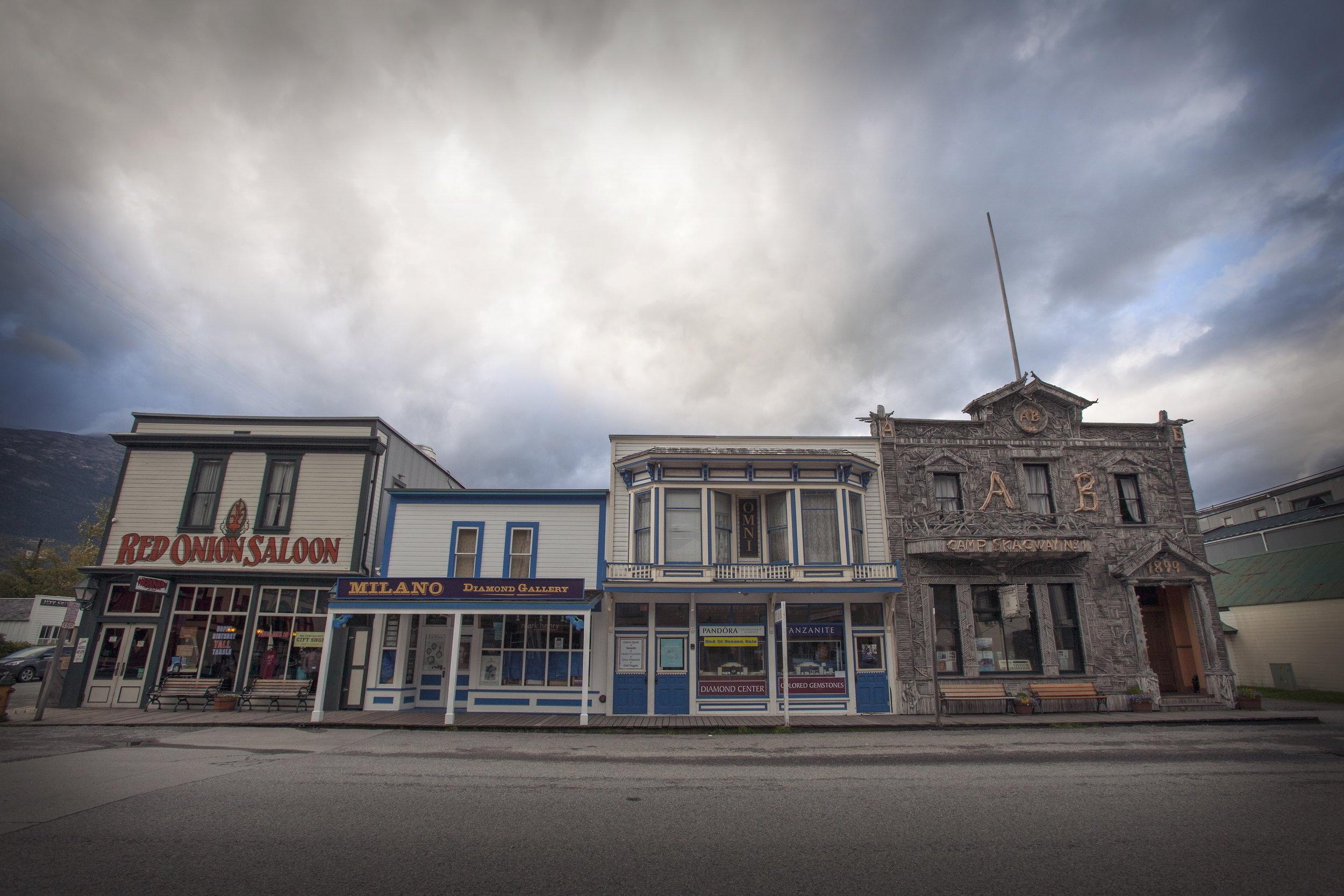 Main Street, Skagway - Across the Blue Planet