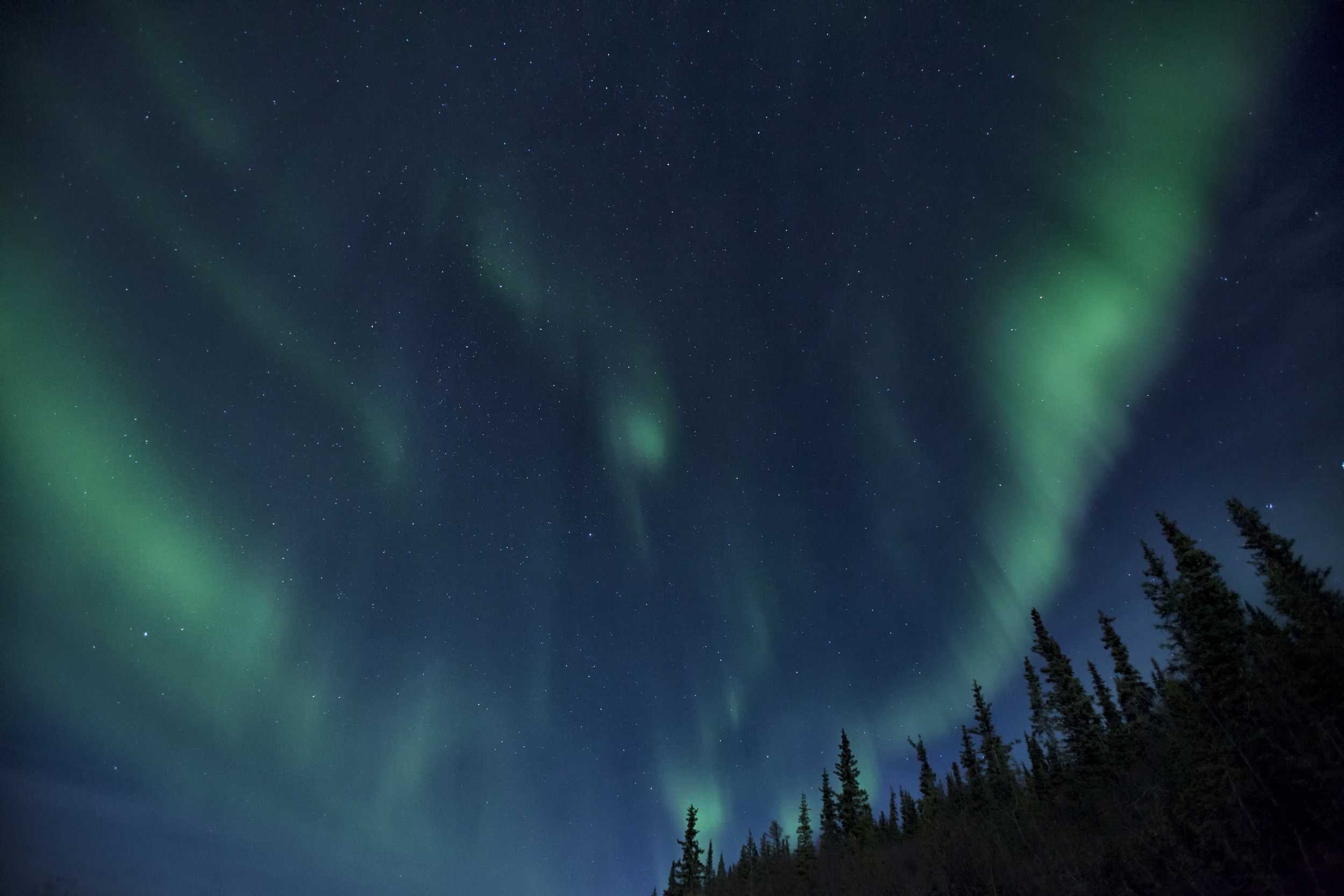 Aurora Borealis in Yukon - Across the Blue Planet