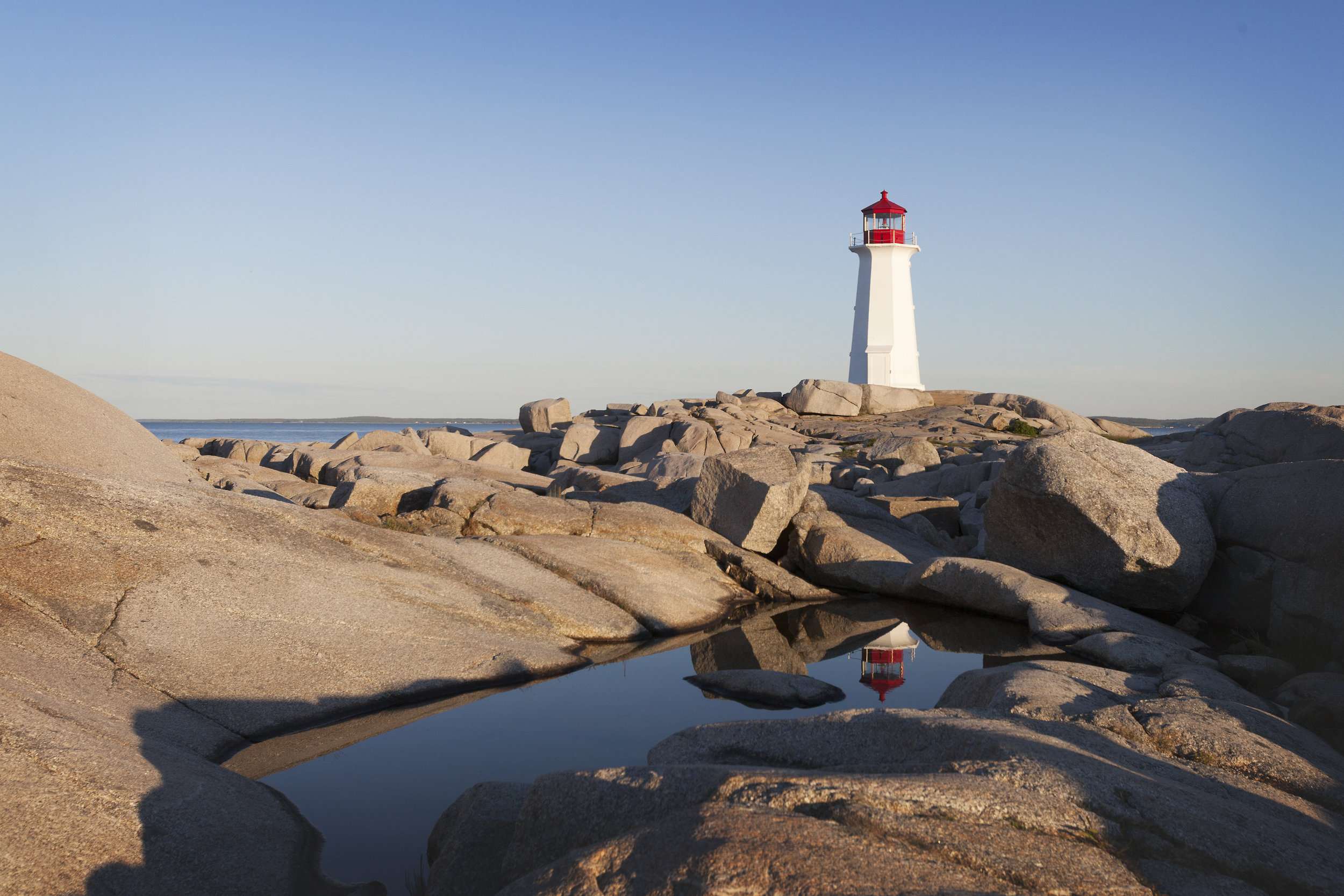 peggy's cove lighthouse - across the blue planet